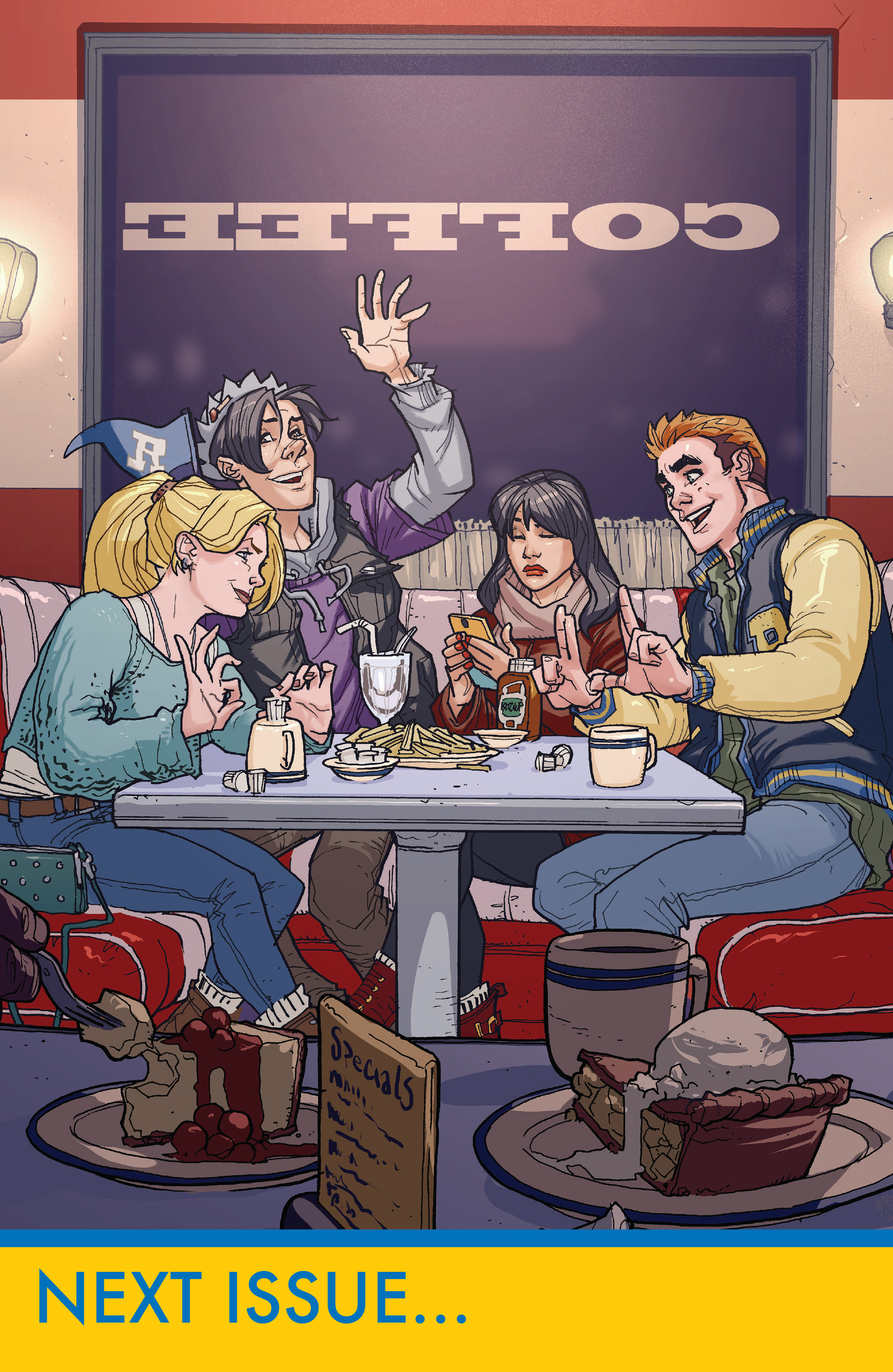 Read online Archie (2015) comic -  Issue #17 - 30