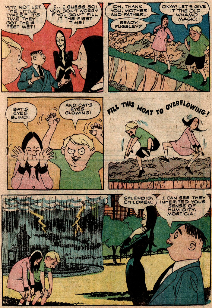 Read online Addams Family comic -  Issue #2 - 6
