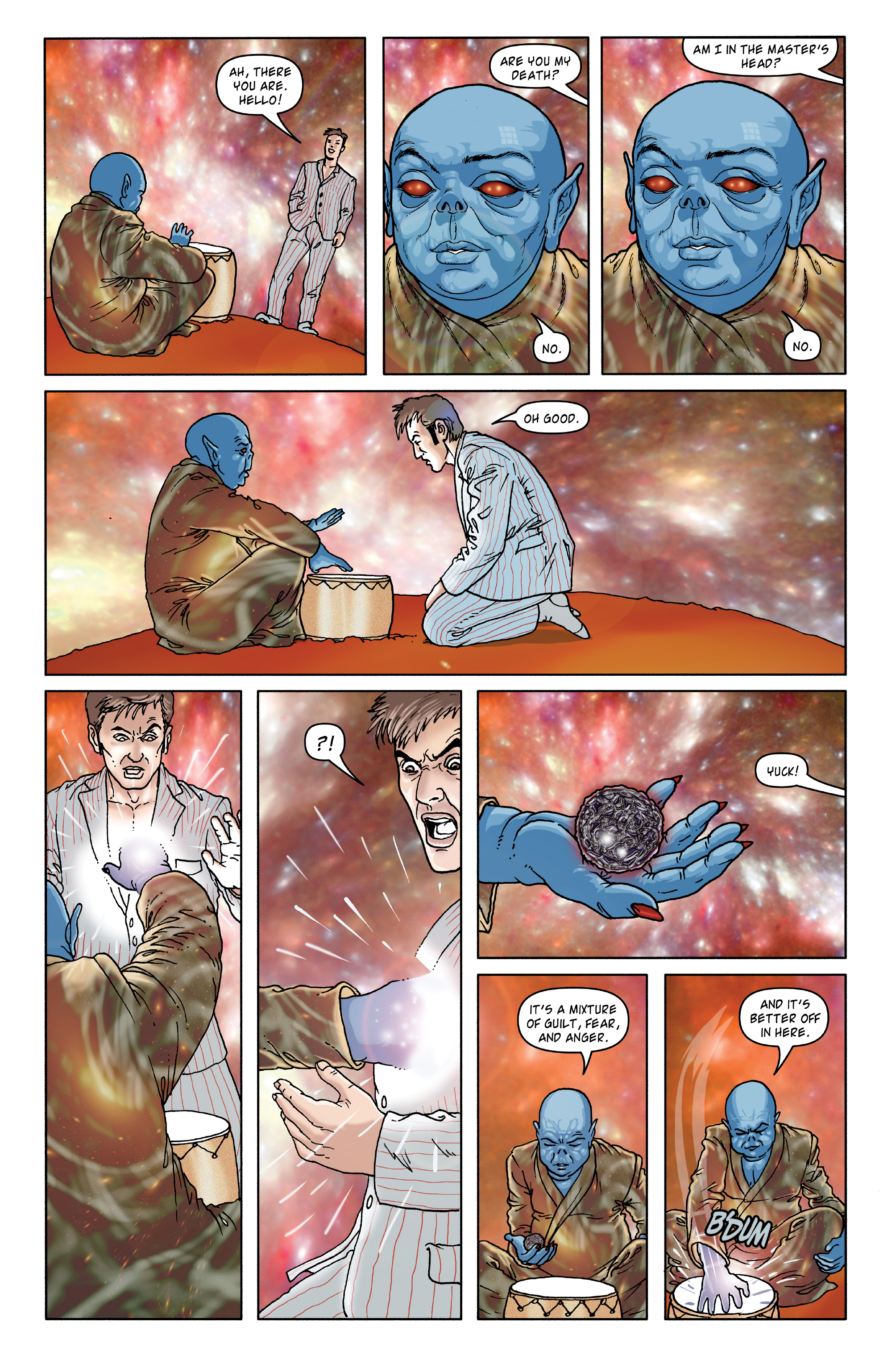 Read online Doctor Who: The Tenth Doctor Archives comic -  Issue #35 - 44