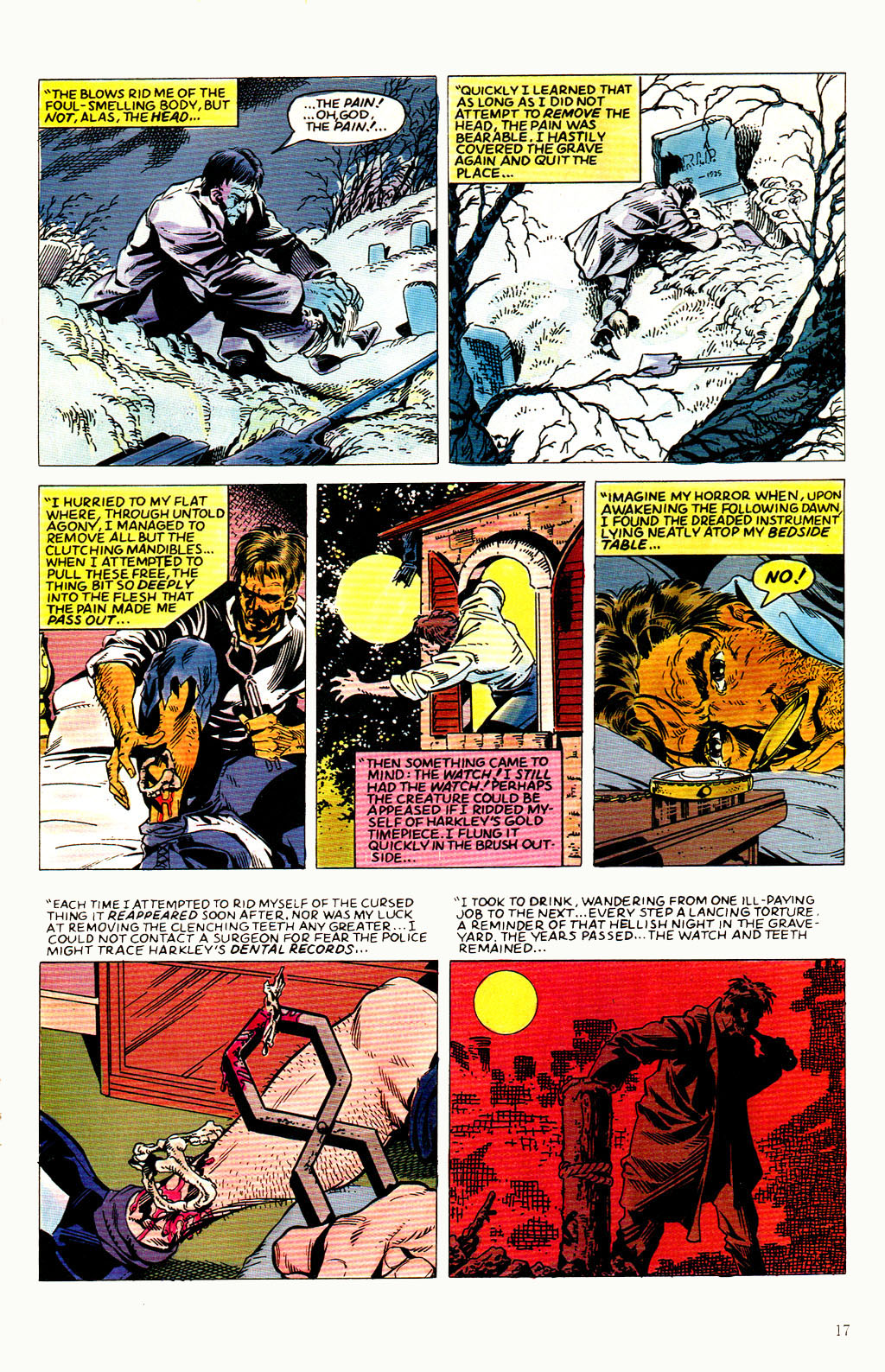 Read online Twisted Tales (1982) comic -  Issue #8 - 19