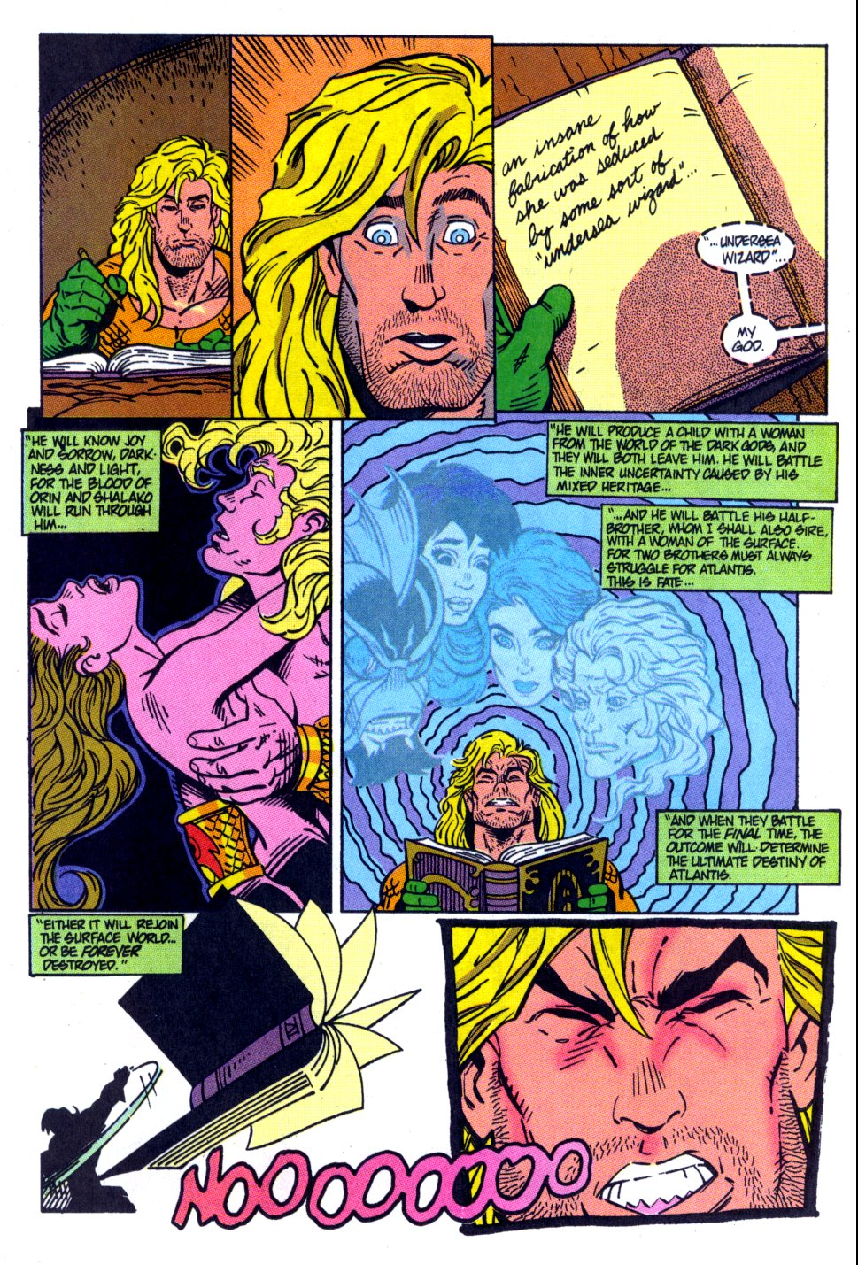 Read online Aquaman: Time and Tide comic -  Issue #4 - 19