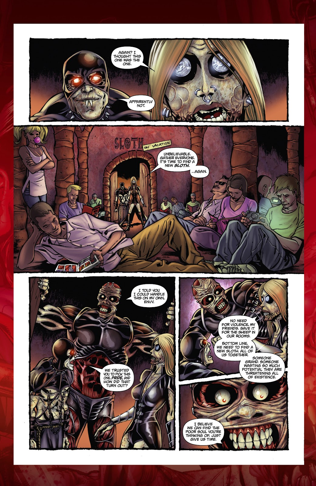 Army of Darkness: The Long Road Home issue TPB - Page 116