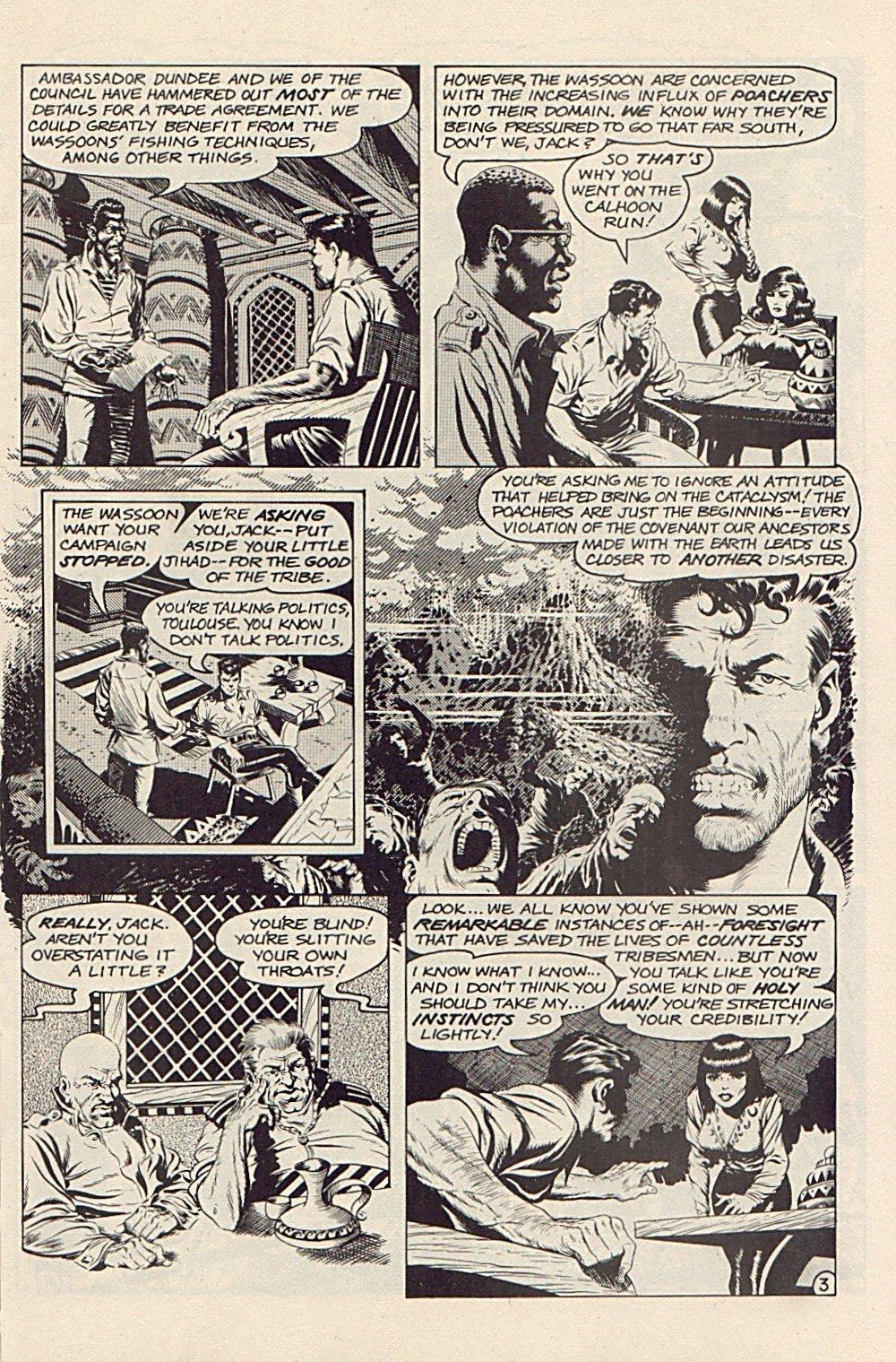 Read online Xenozoic Tales comic -  Issue #3 - 6