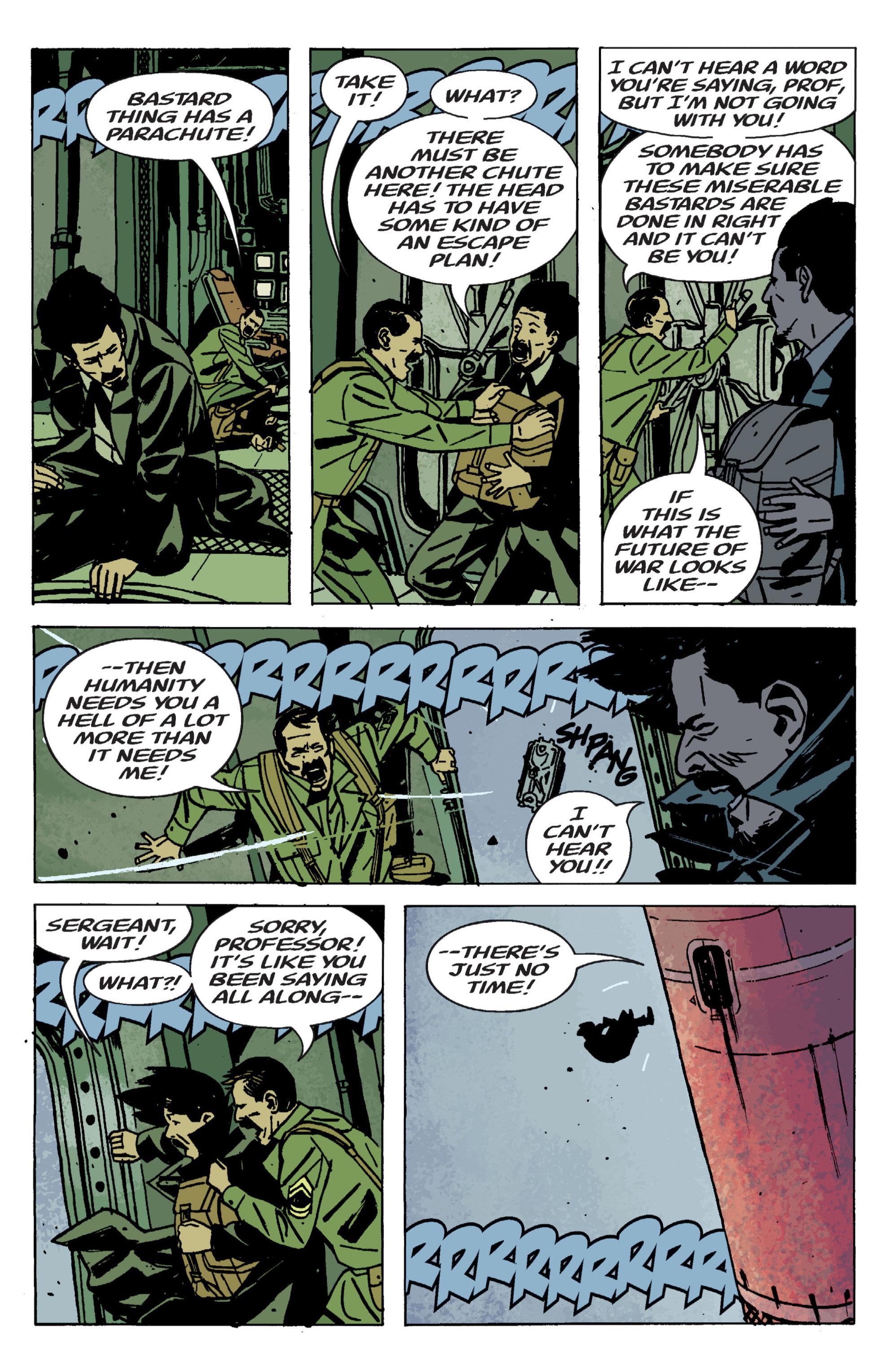 Read online B.P.R.D. (2003) comic -  Issue # TPB 9 - 129