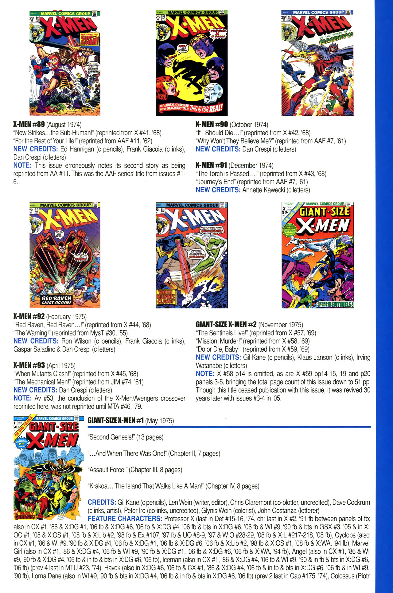 Read online Official Index to the Marvel Universe comic -  Issue #2 - 57