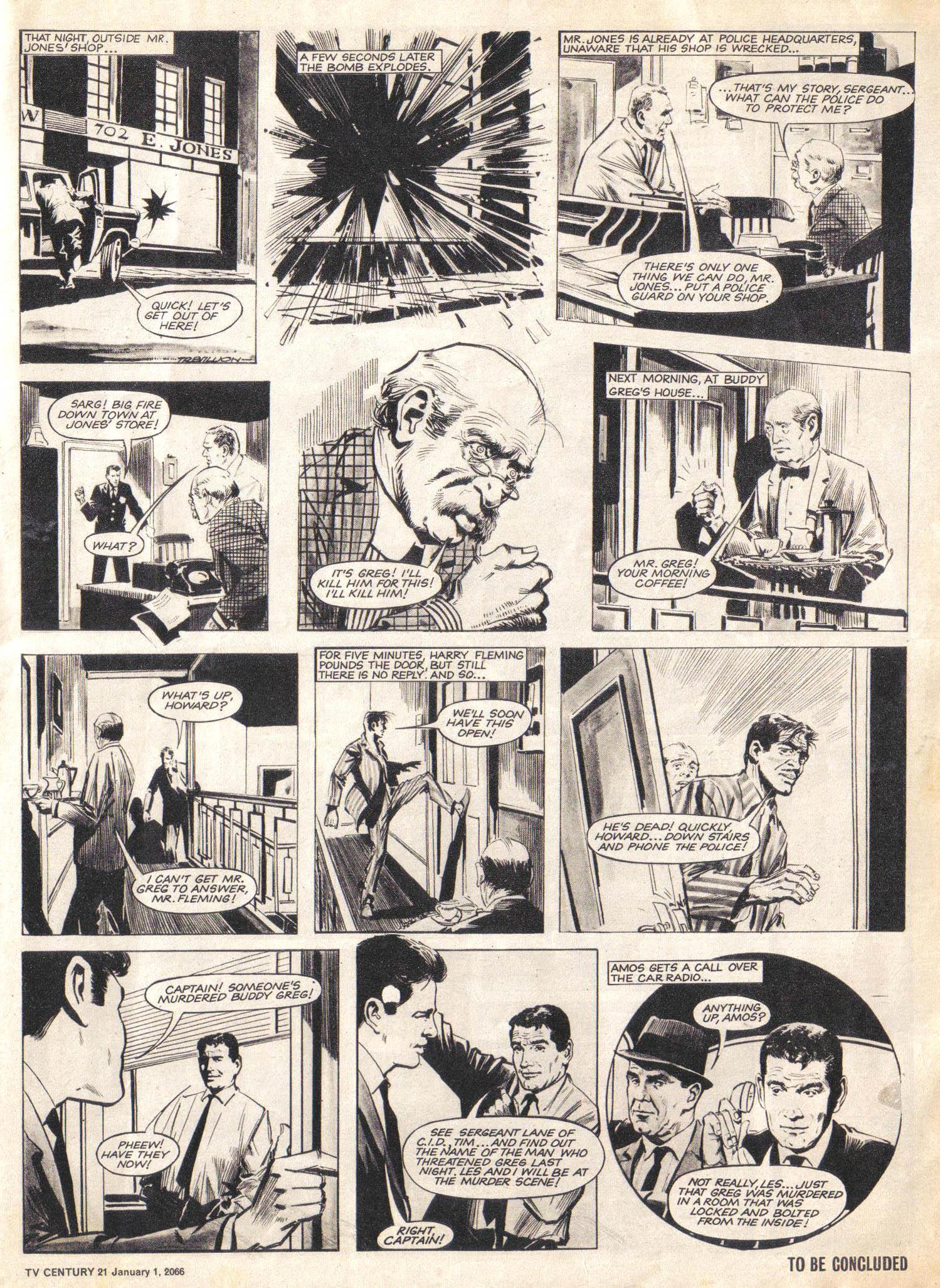 Read online TV Century 21 (TV 21) comic -  Issue #50 - 3