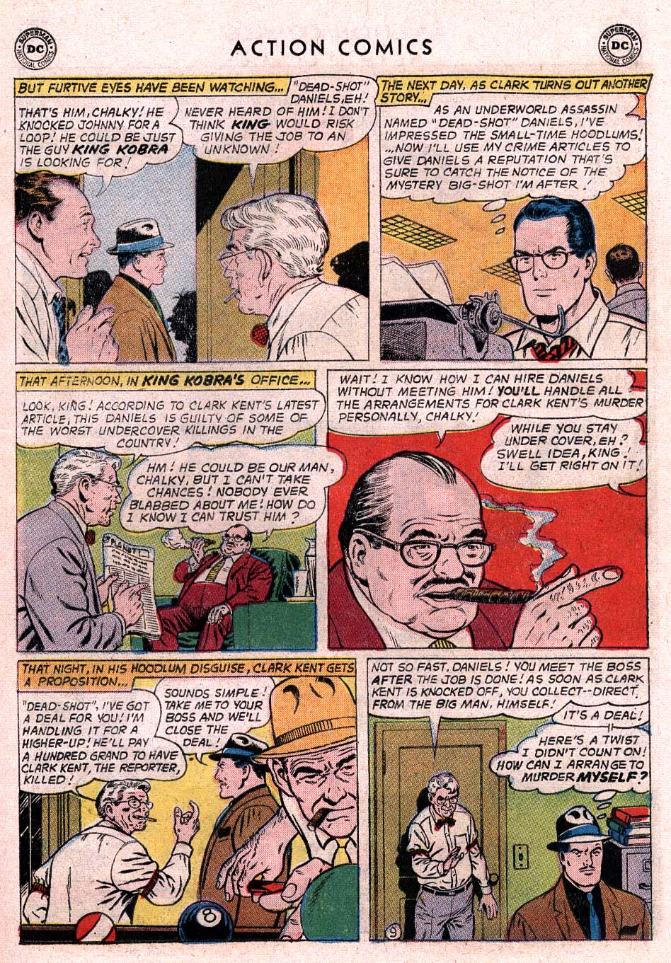 Read online Action Comics (1938) comic -  Issue #307 - 10