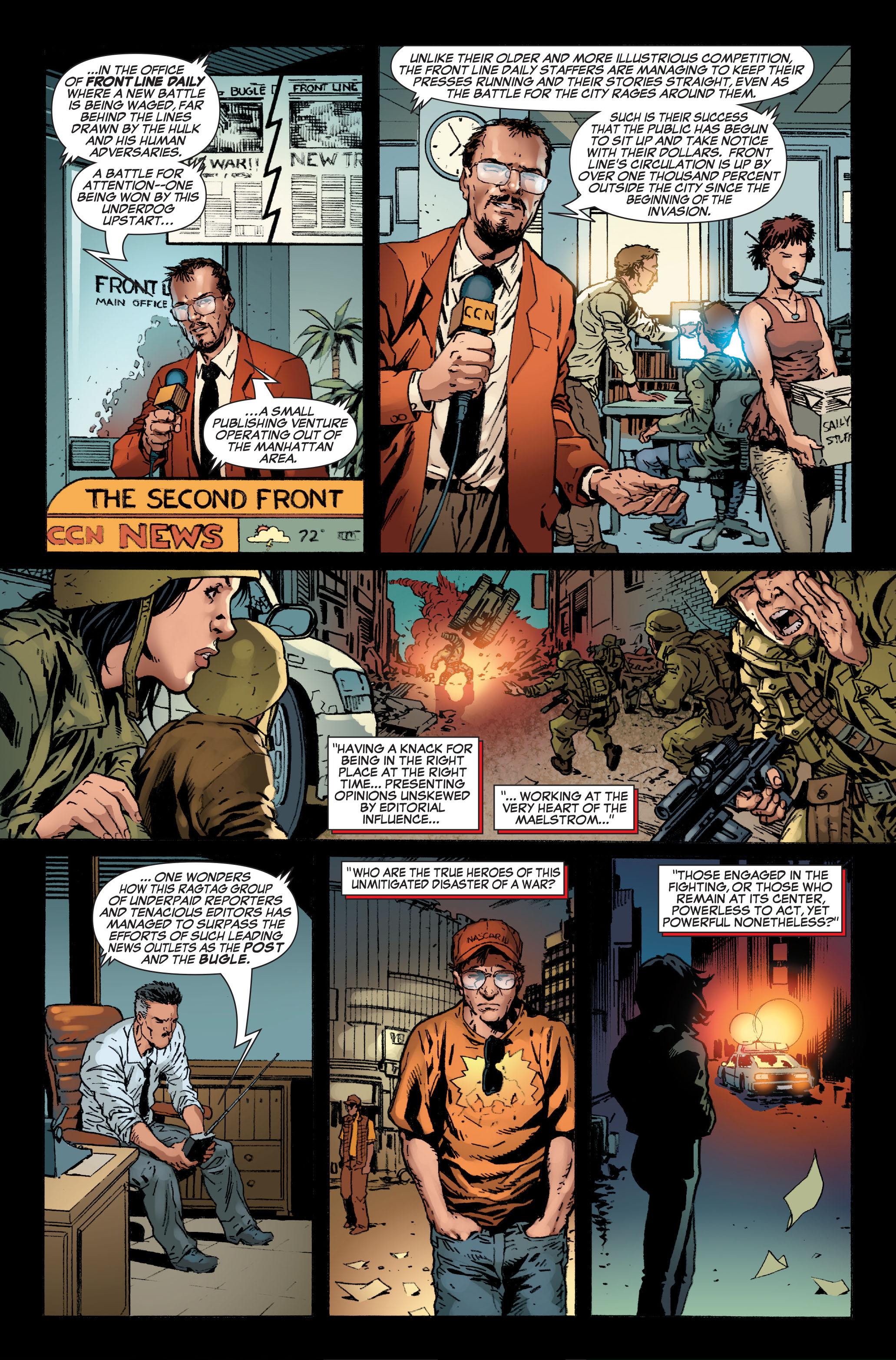 Read online World War Hulk: Front Line comic -  Issue #5 - 7