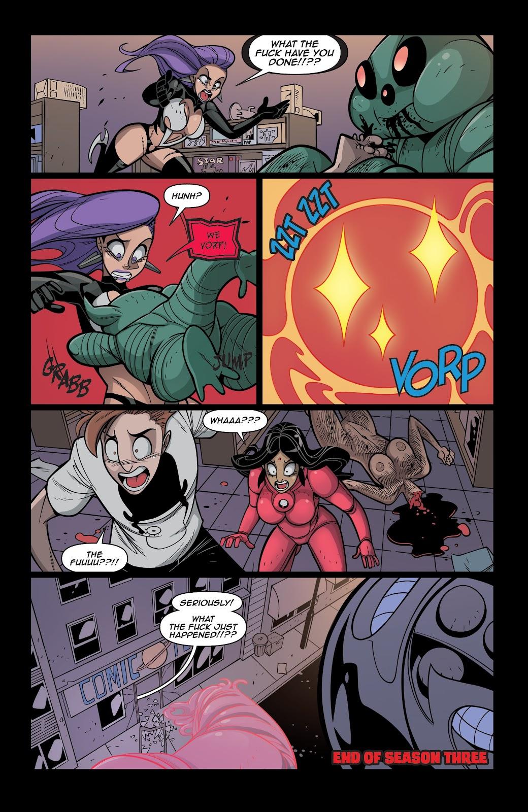 Read online Vampblade Season 3 comic -  Issue #12 - 25