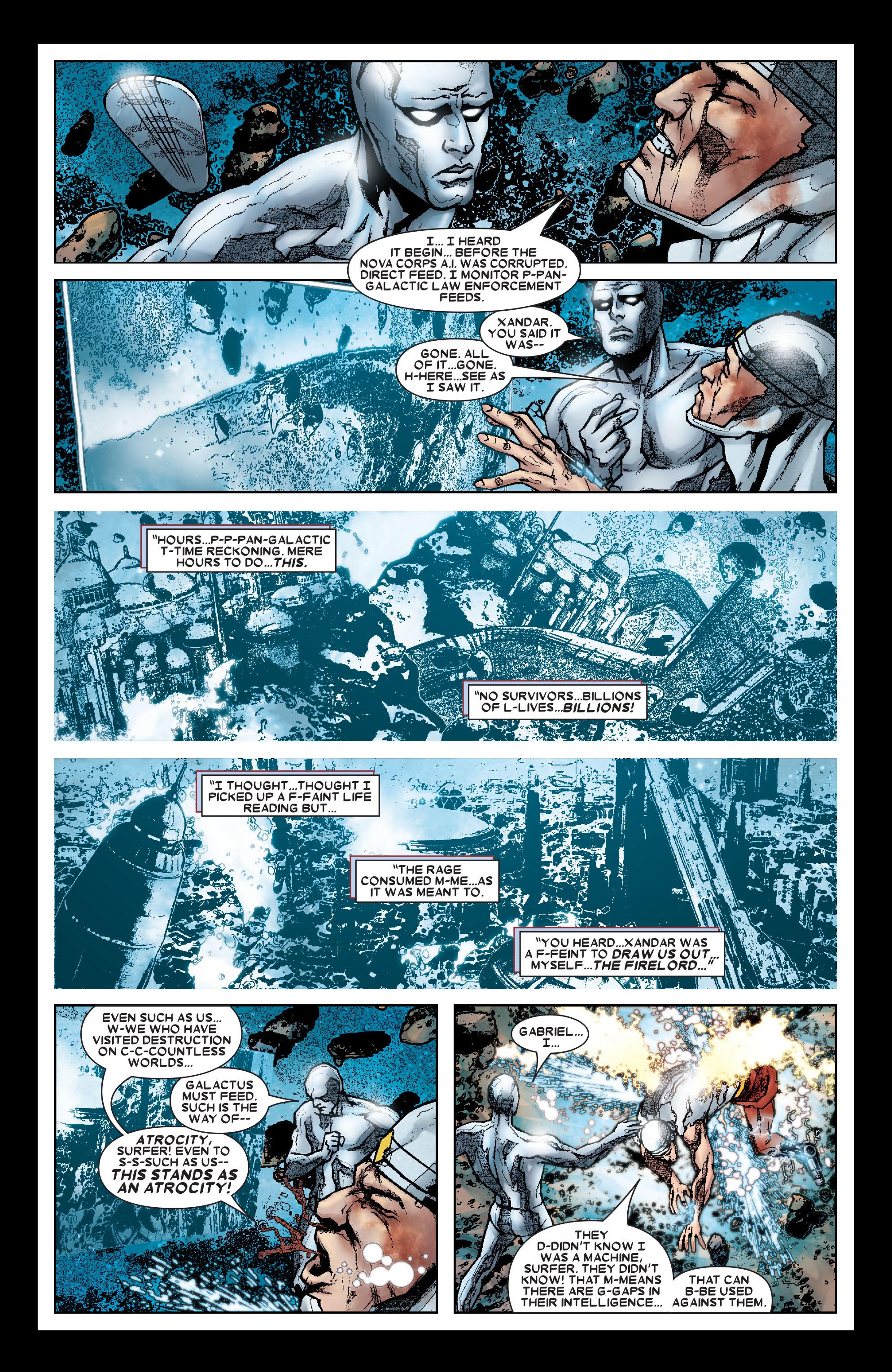 Read online Annihilation: Silver Surfer comic -  Issue #1 - 14