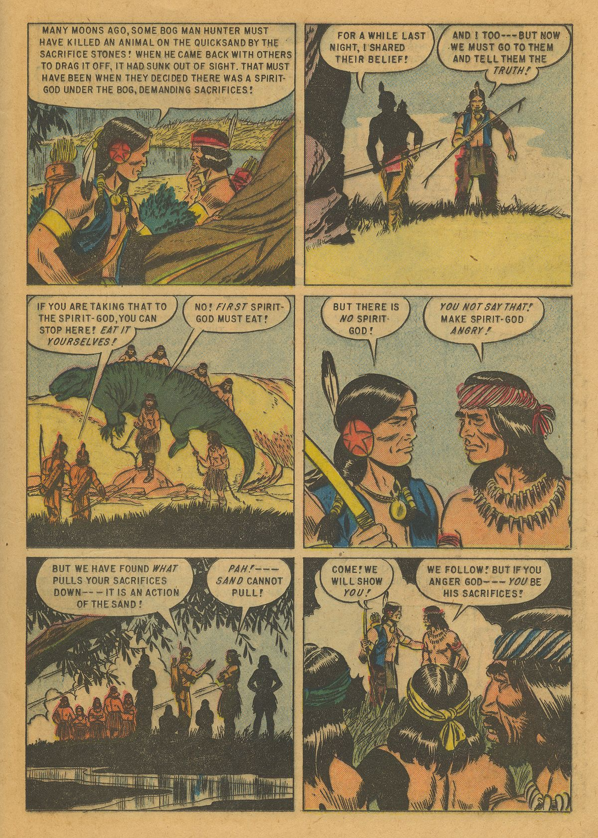 Read online Turok, Son of Stone comic -  Issue #10 - 25