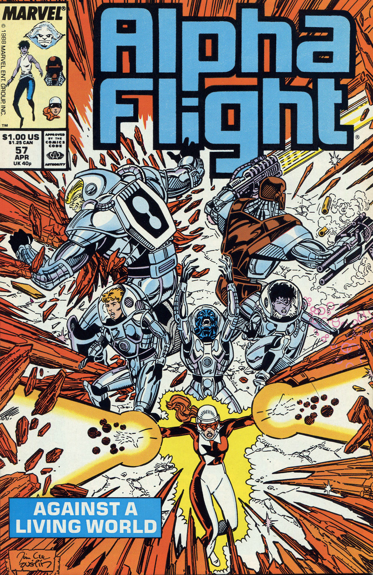 Alpha Flight (1983) 57 Page 1
