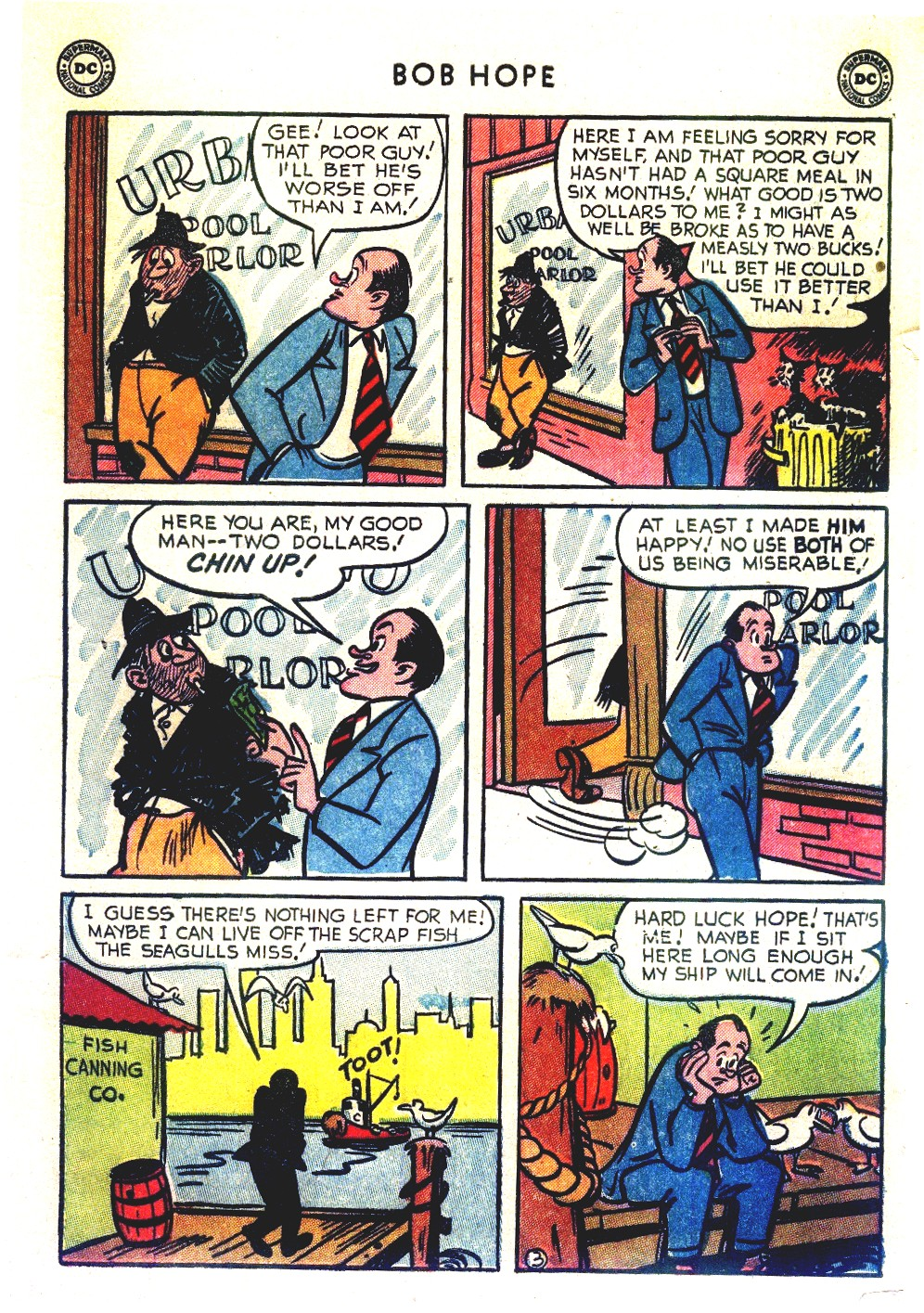 The Adventures of Bob Hope issue 27 - Page 5
