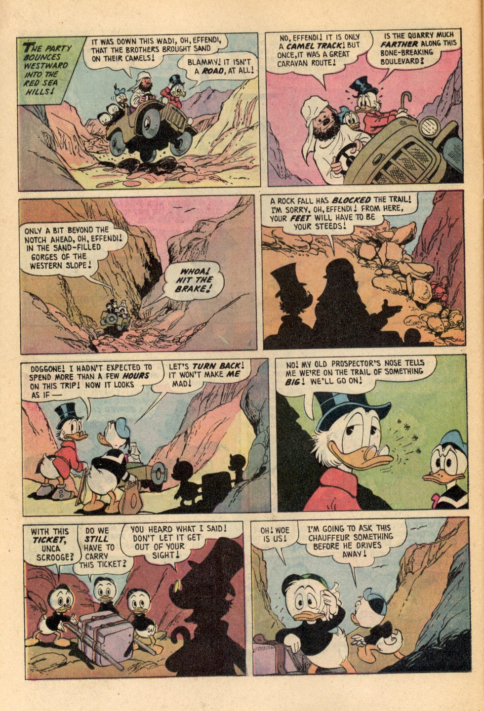 Read online Uncle Scrooge (1953) comic -  Issue #108 - 12