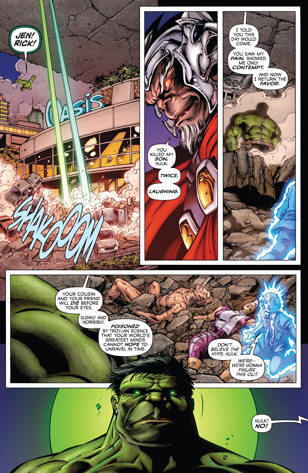 Read online Incredible Hulks (2010) comic -  Issue # _TPB Heart of the Monster - 52