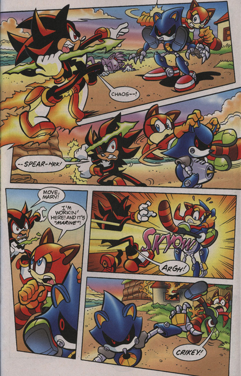 Read online Sonic Universe comic -  Issue #1 - 16
