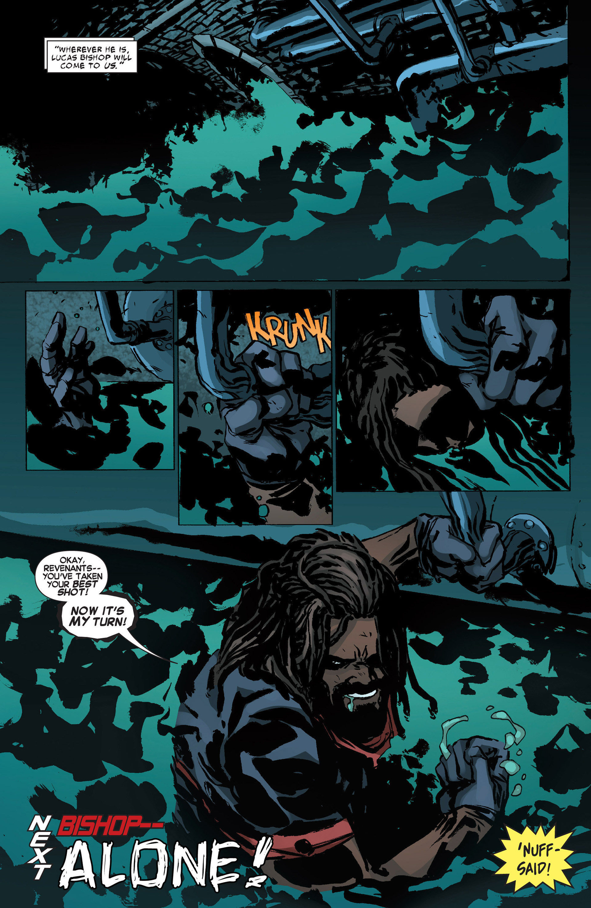Read online Uncanny X-Force (2013) comic -  Issue #10 - 19