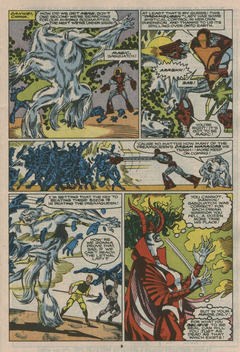 Read online Alpha Flight (1983) comic -  Issue #60 - 7