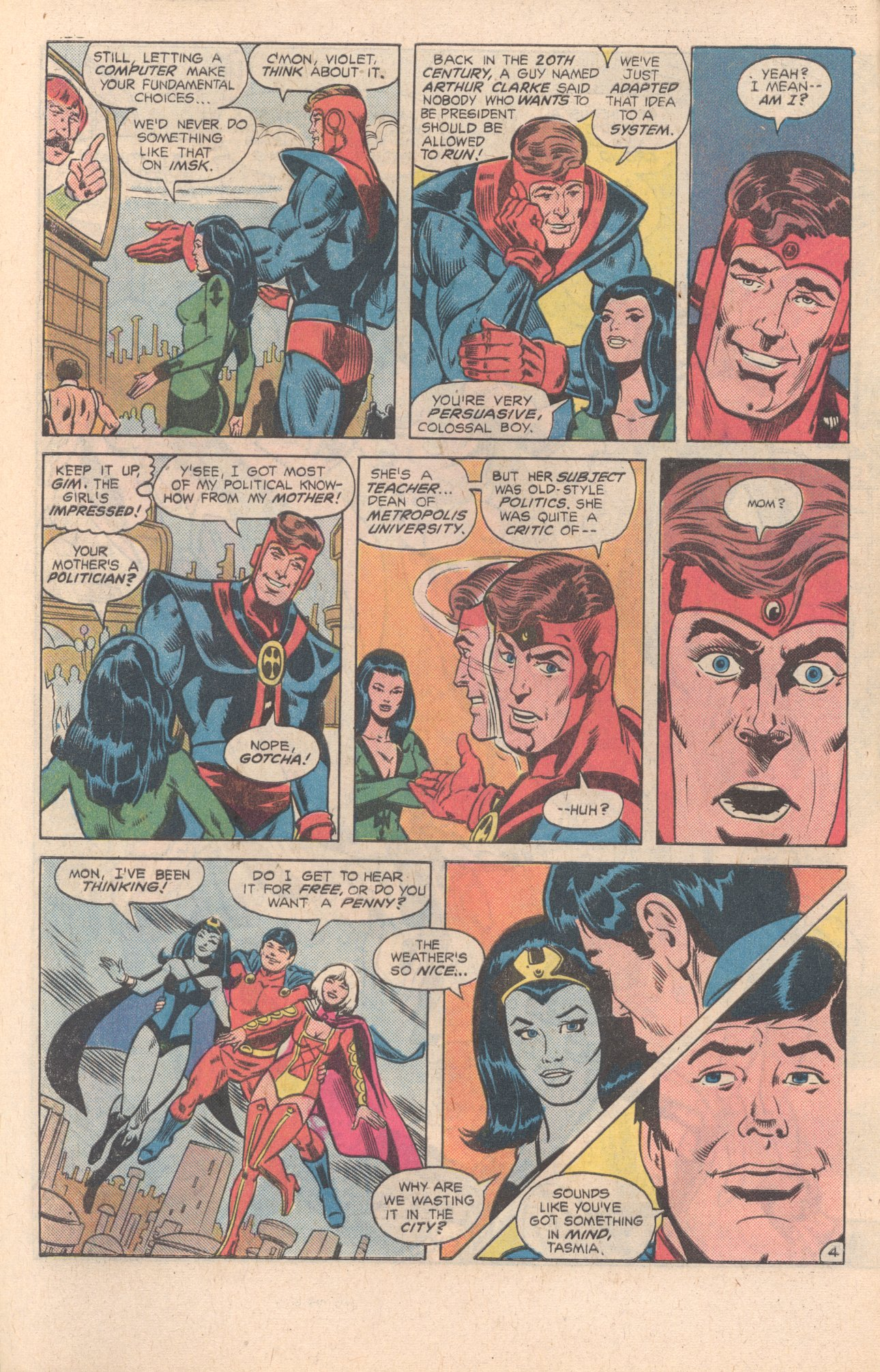 Legion of Super-Heroes (1980) 269 Page 5