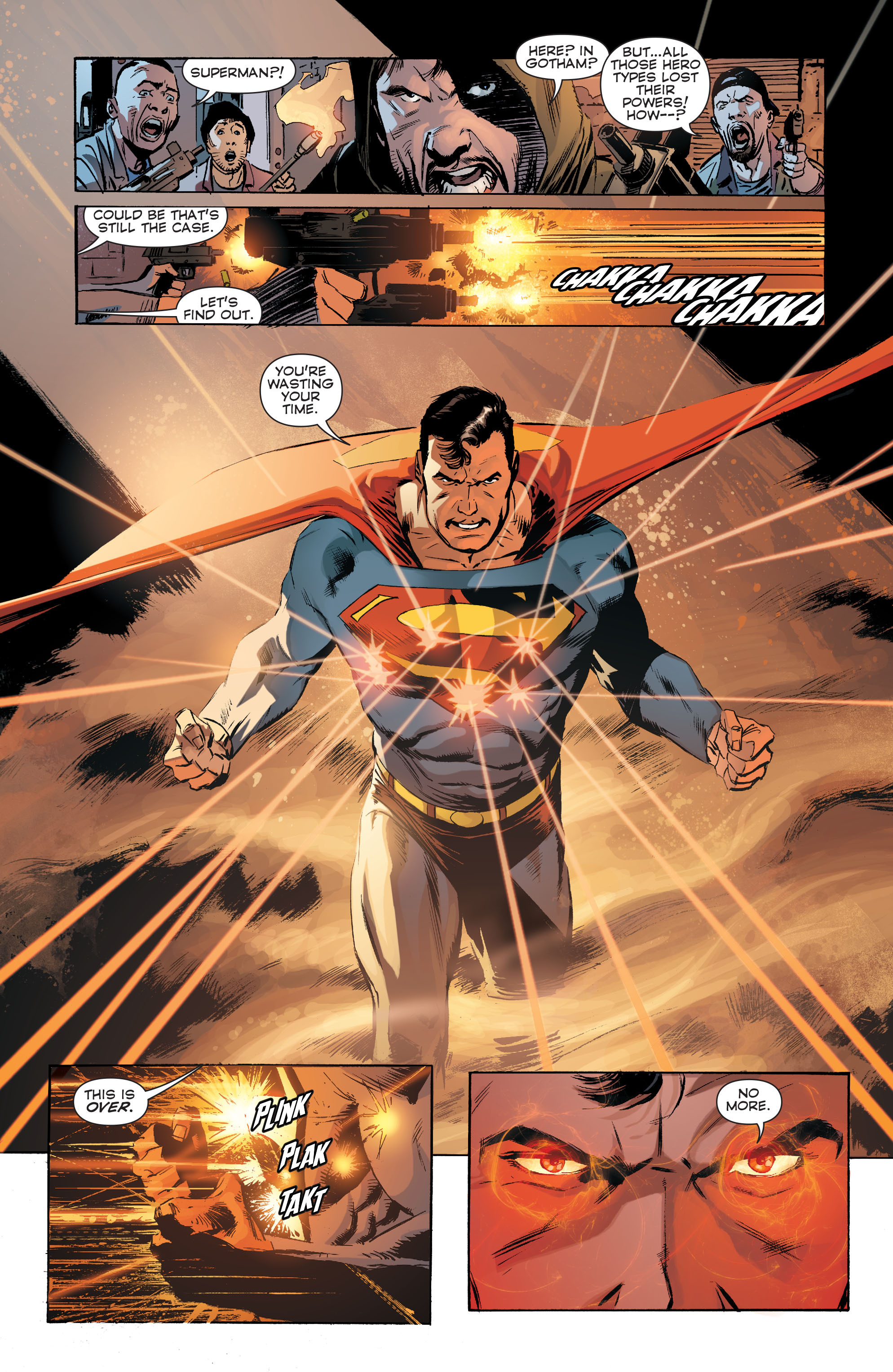 Read online Convergence Superman comic -  Issue #1 - 7
