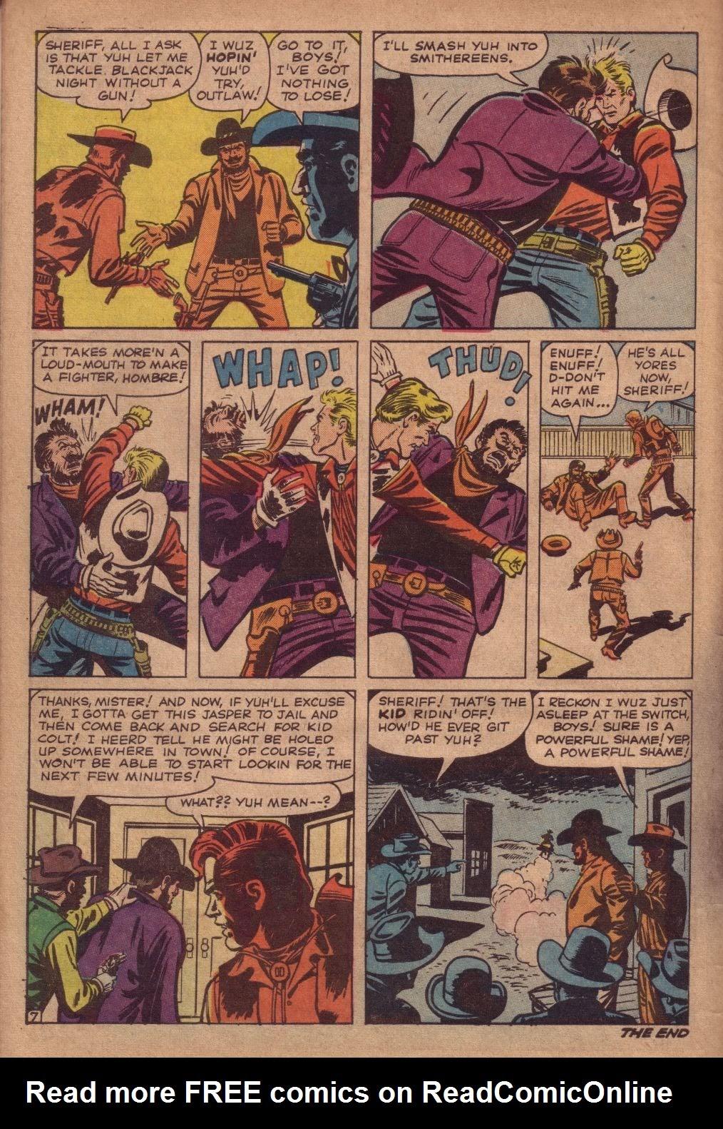 Gunsmoke Western issue 67 - Page 10