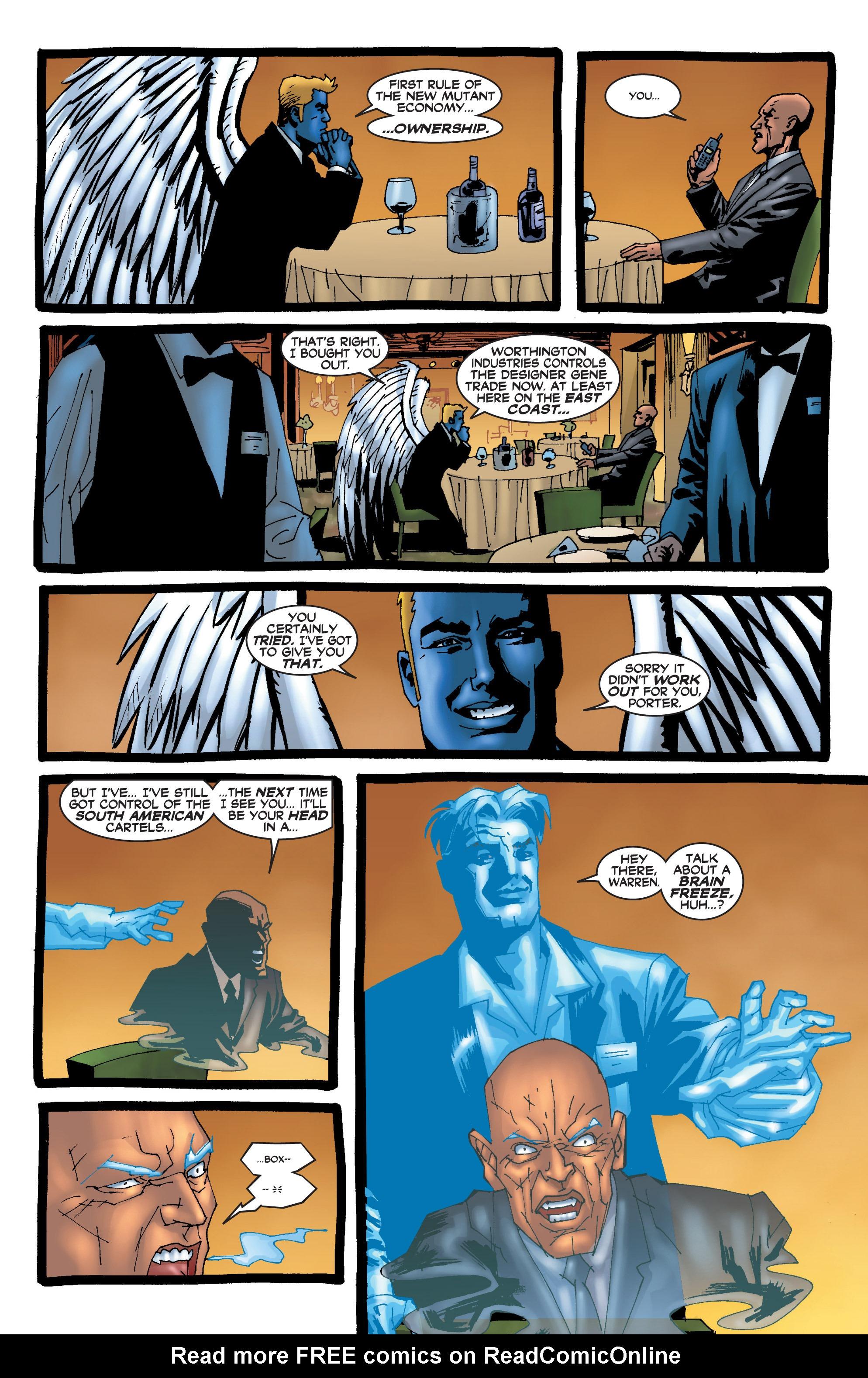 Read online Uncanny X-Men (1963) comic -  Issue #409 - 17