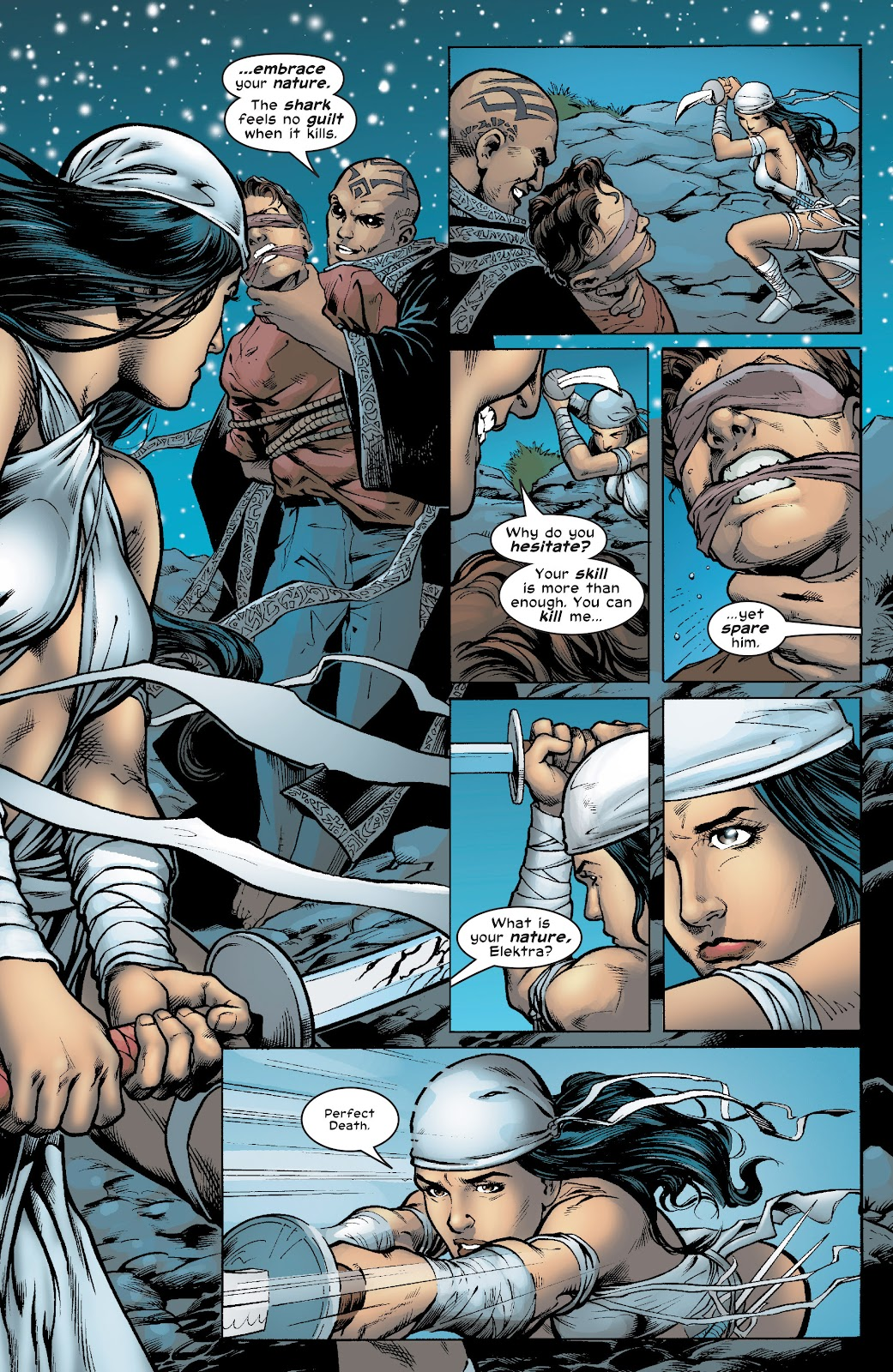 Read online Elektra (2001) comic -  Issue # _TPB Elektra by Greg Rucka Ultimate Collection (Part 4) - 74