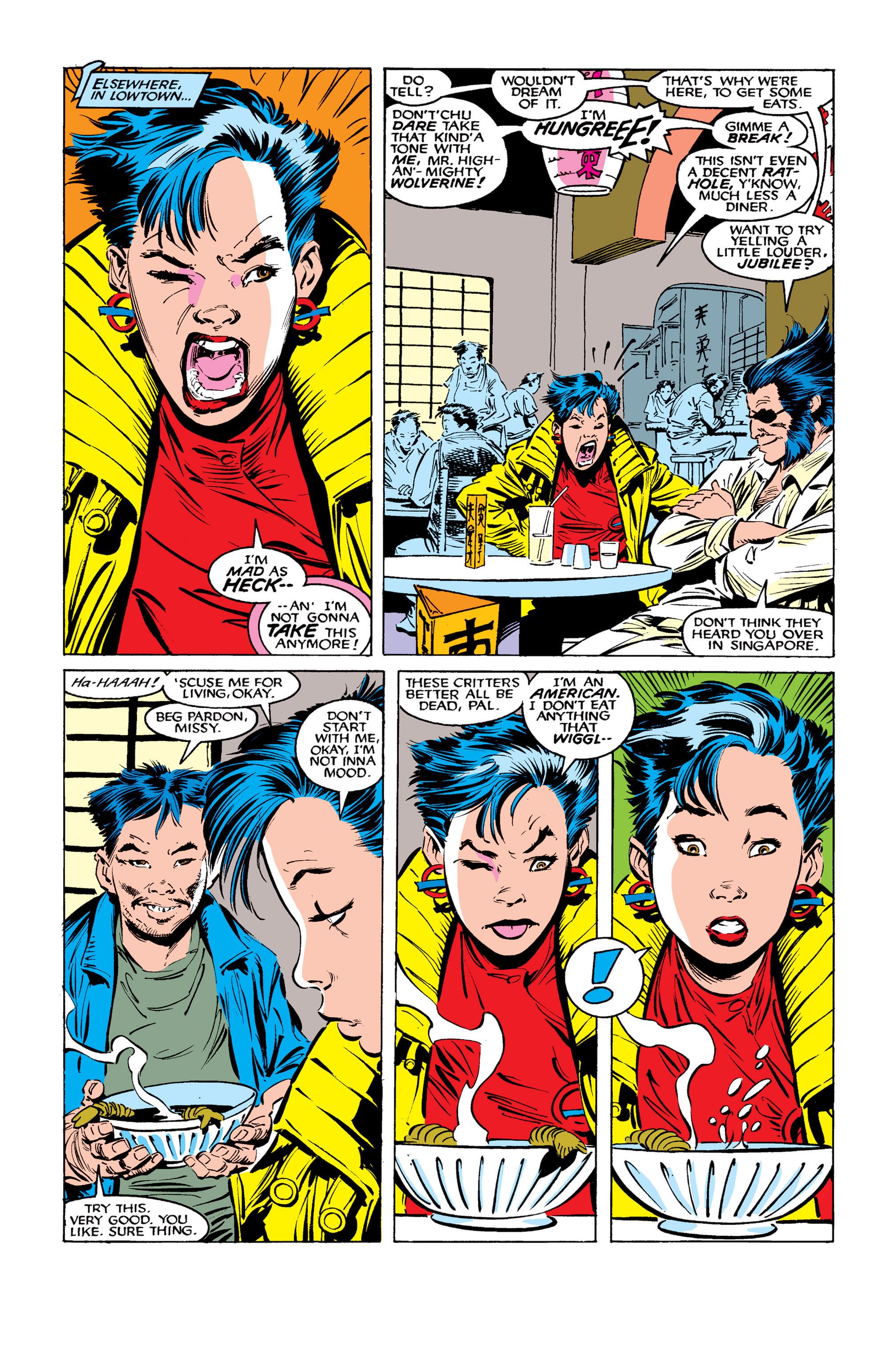 Read online Uncanny X-Men (1963) comic -  Issue #261 - 5
