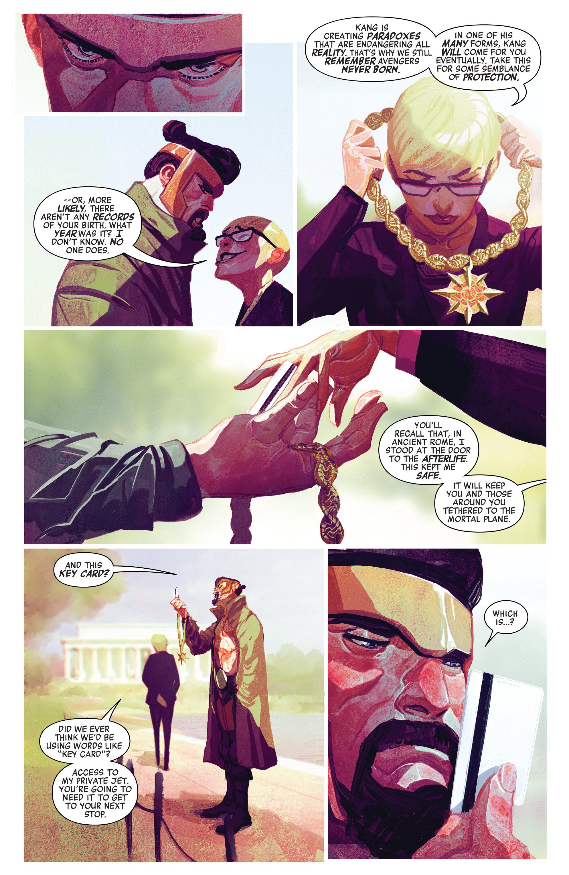 Read online Avengers (2016) comic -  Issue #2 - 11