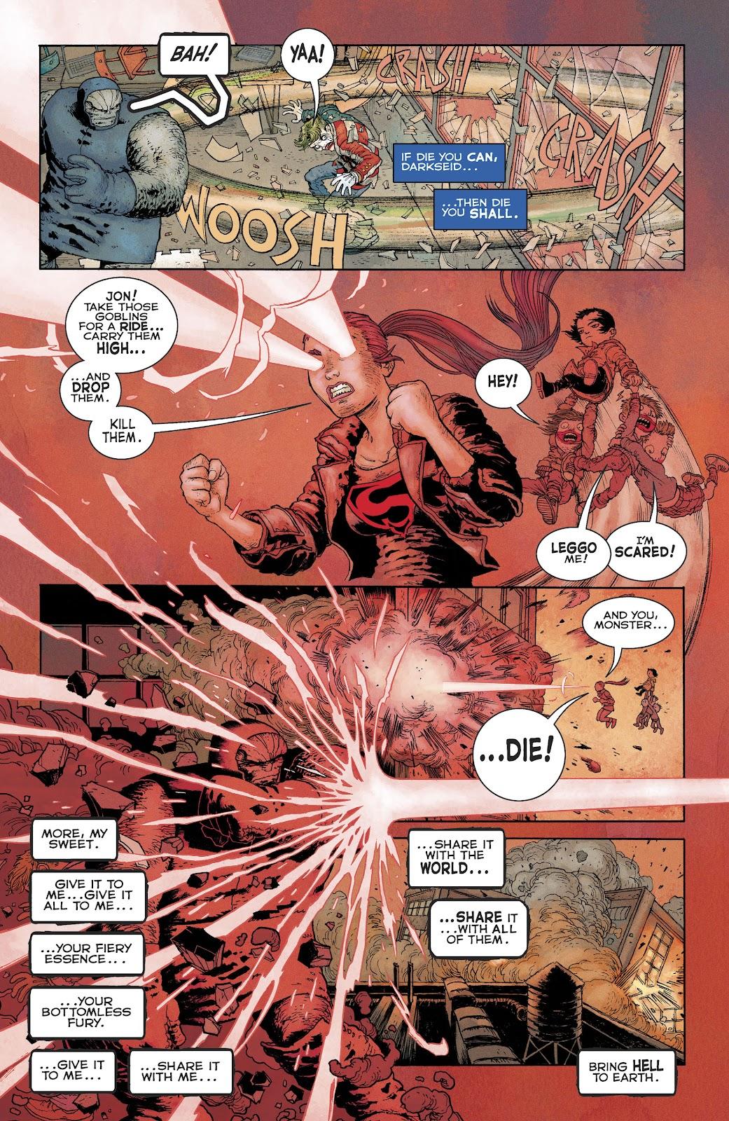 Dark Knight Returns: The Golden Child issue Full - Page 19