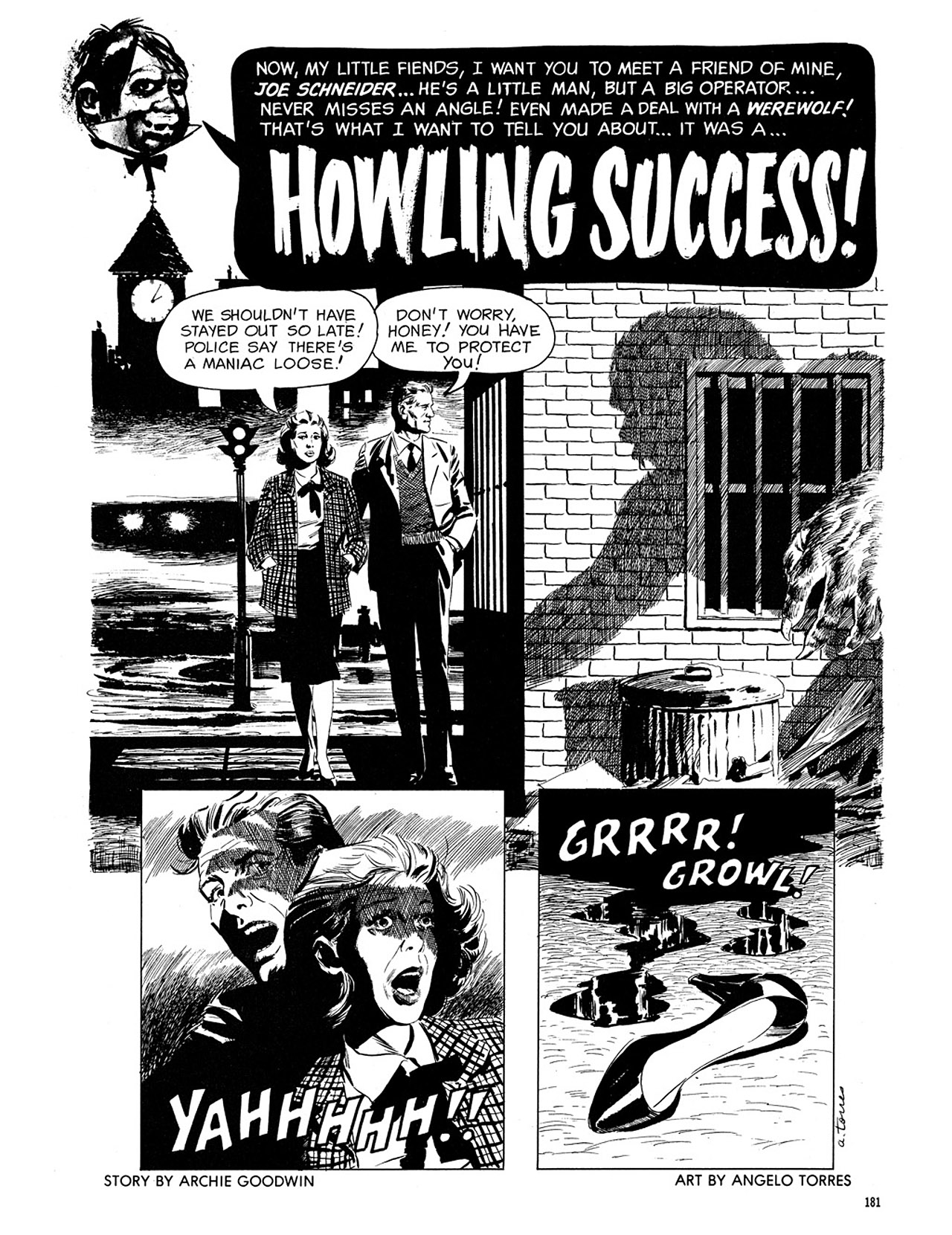 Read online Eerie Archives comic -  Issue # TPB 3 - 182