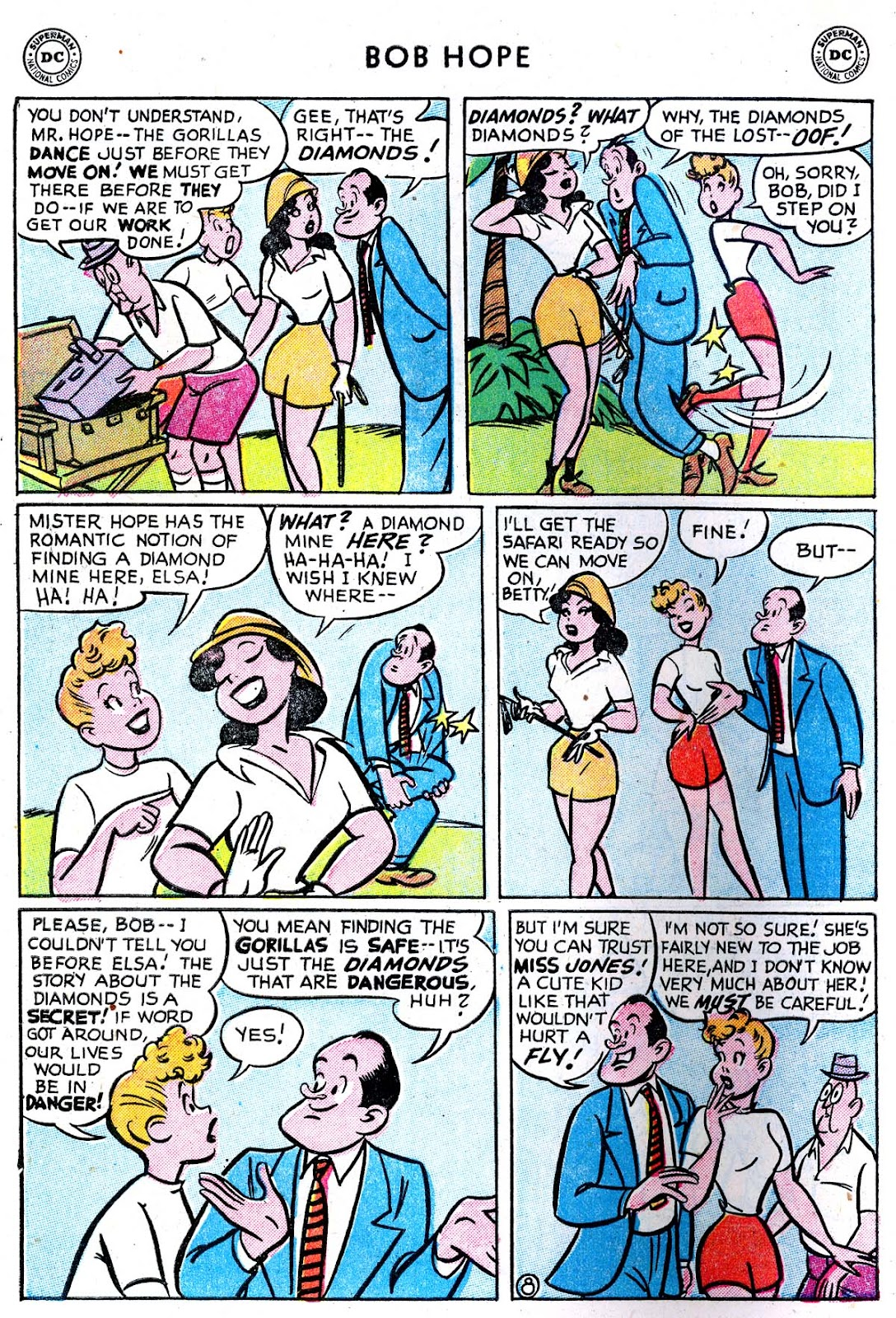The Adventures of Bob Hope issue 33 - Page 10