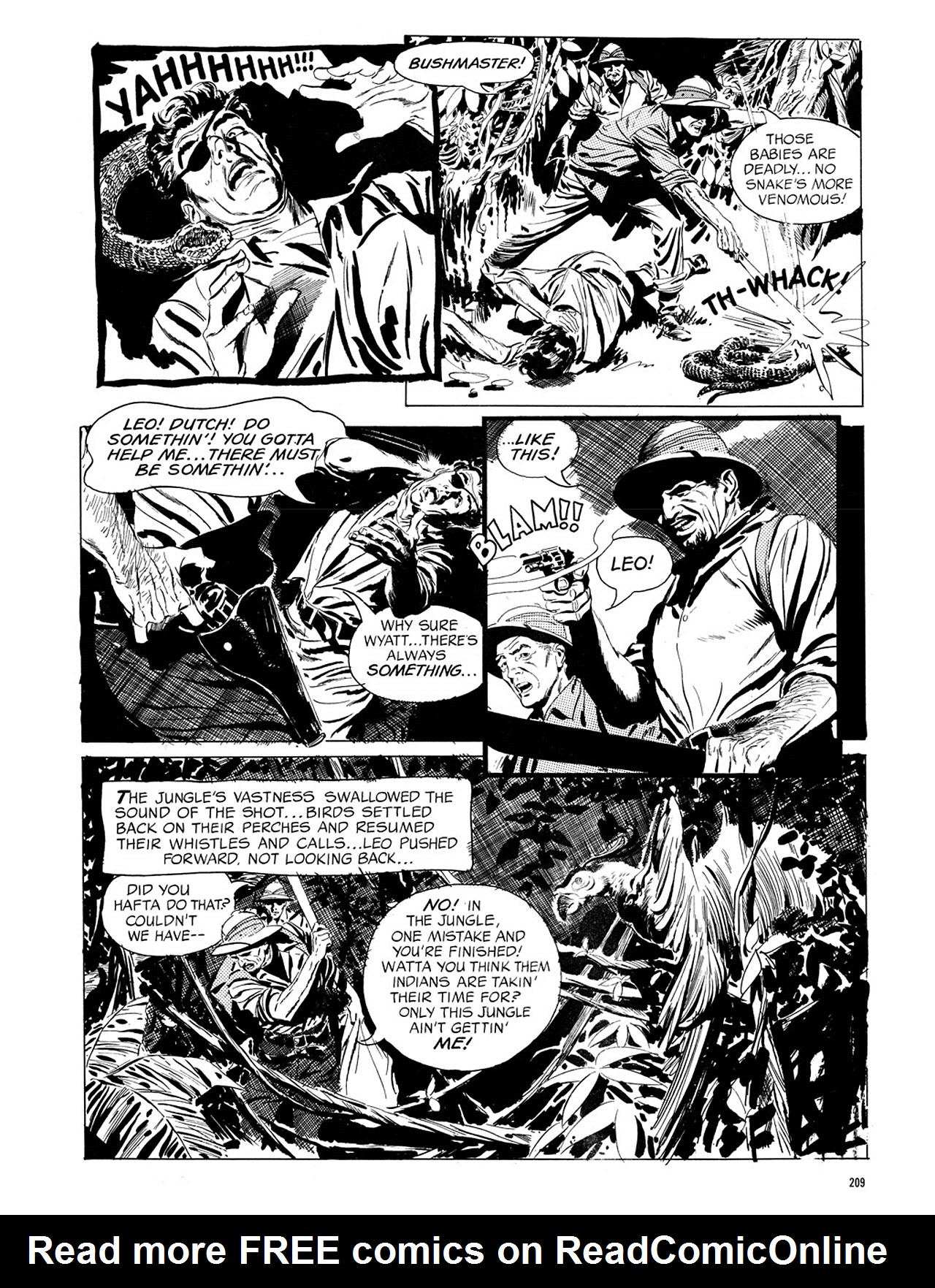 Read online Eerie Archives comic -  Issue # TPB 1 - 210