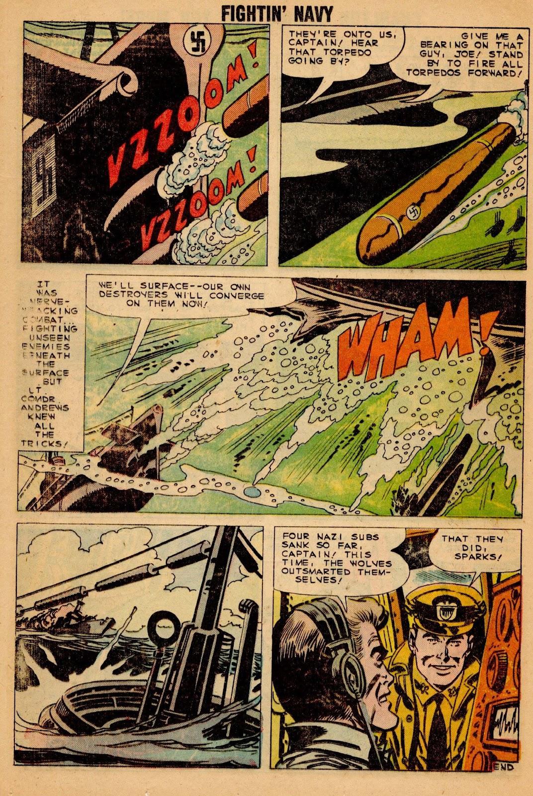 Read online Fightin' Navy comic -  Issue #90 - 24