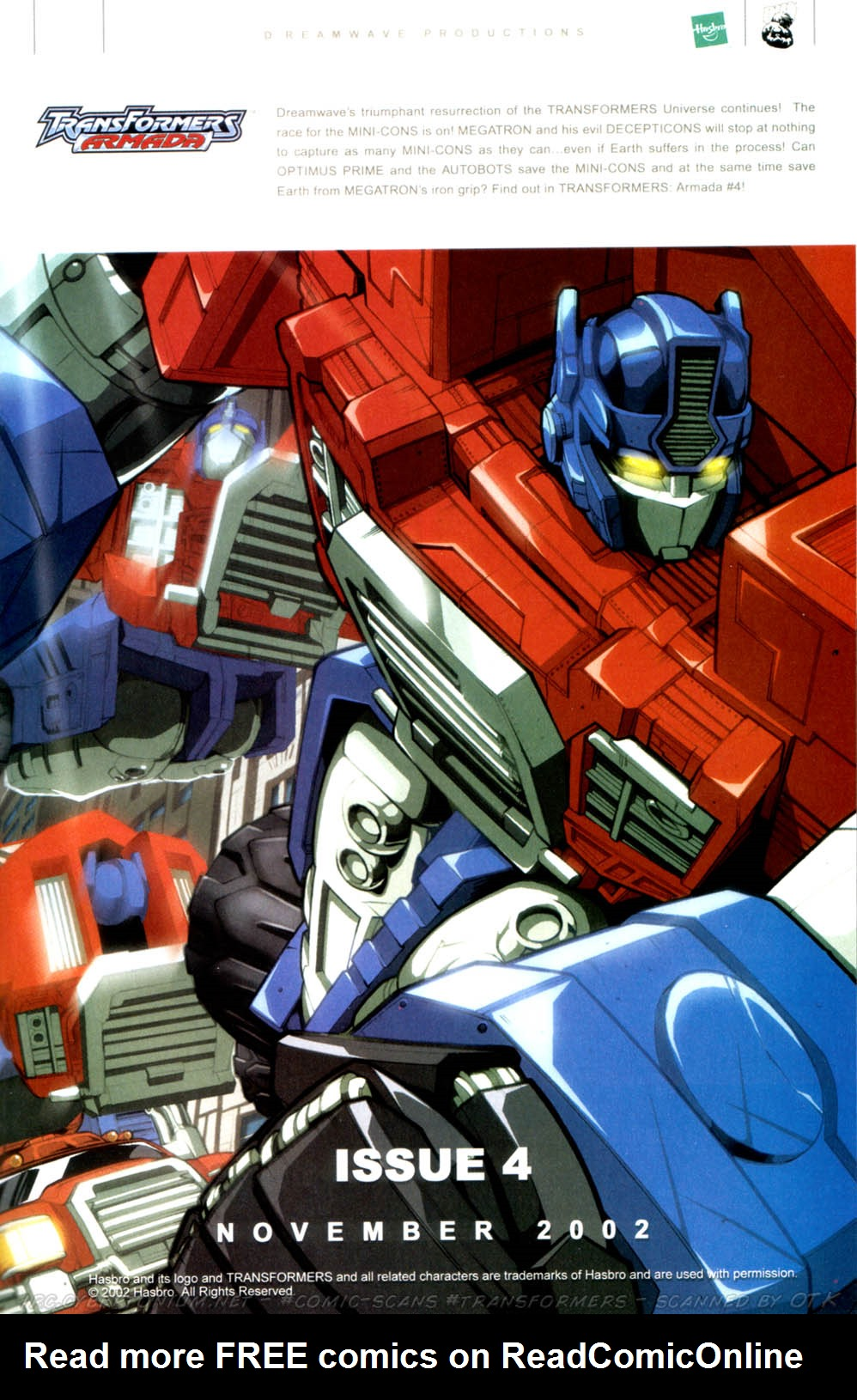 Read online Transformers Armada comic -  Issue #3 - 27