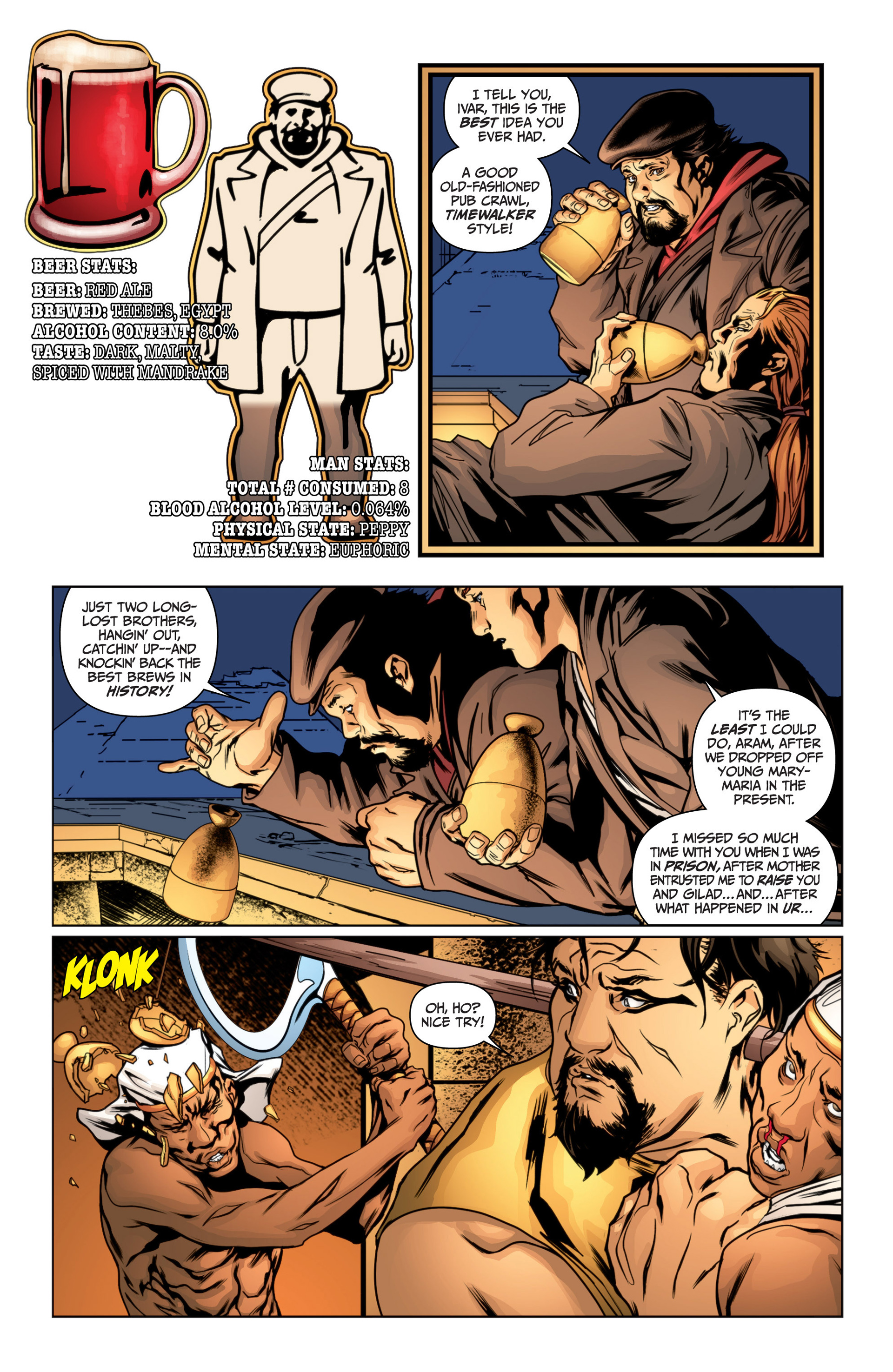Read online Archer and Armstrong comic -  Issue #15 - 8