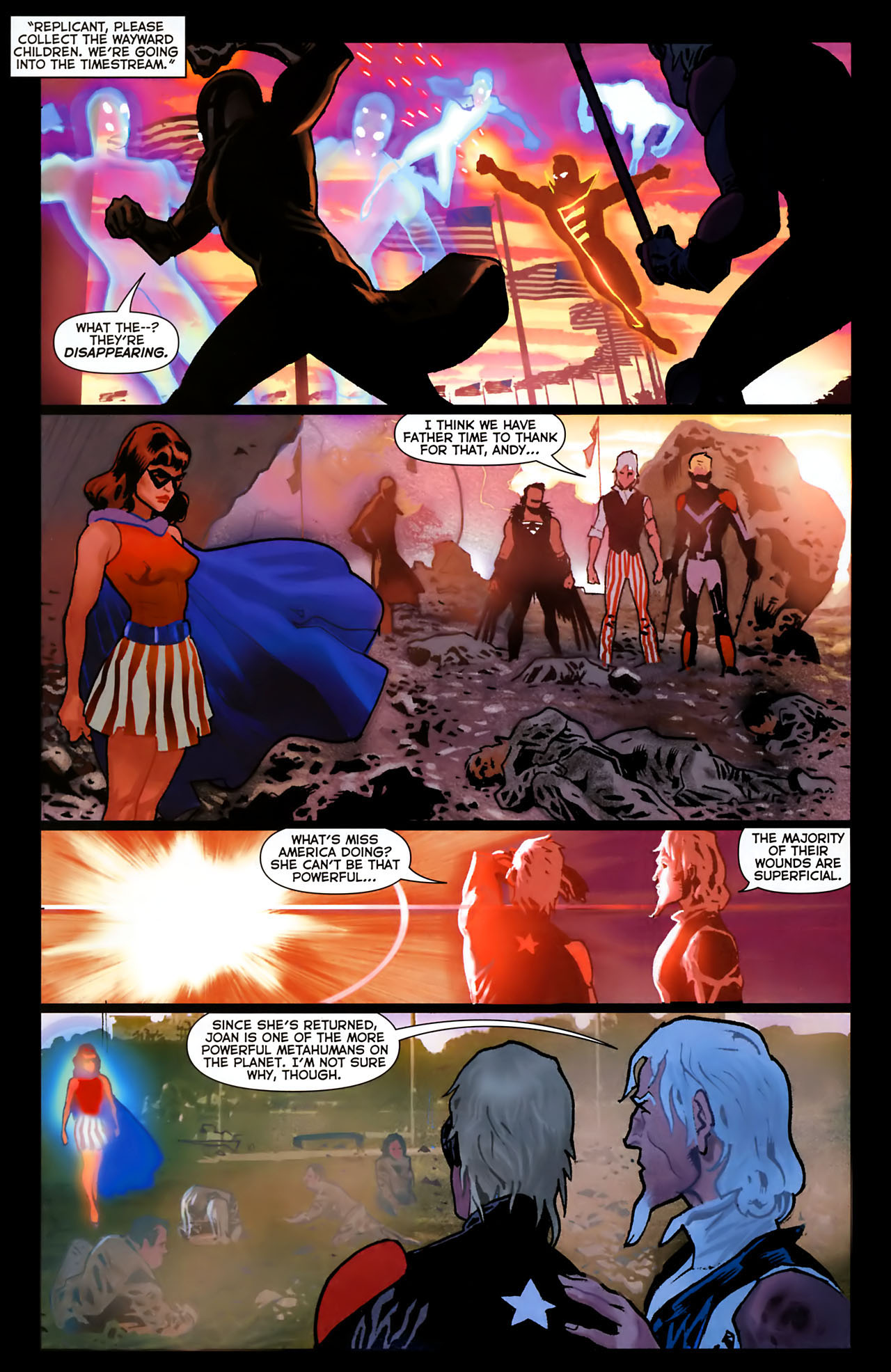 Read online Uncle Sam and the Freedom Fighters (2006) comic -  Issue #8 - 15