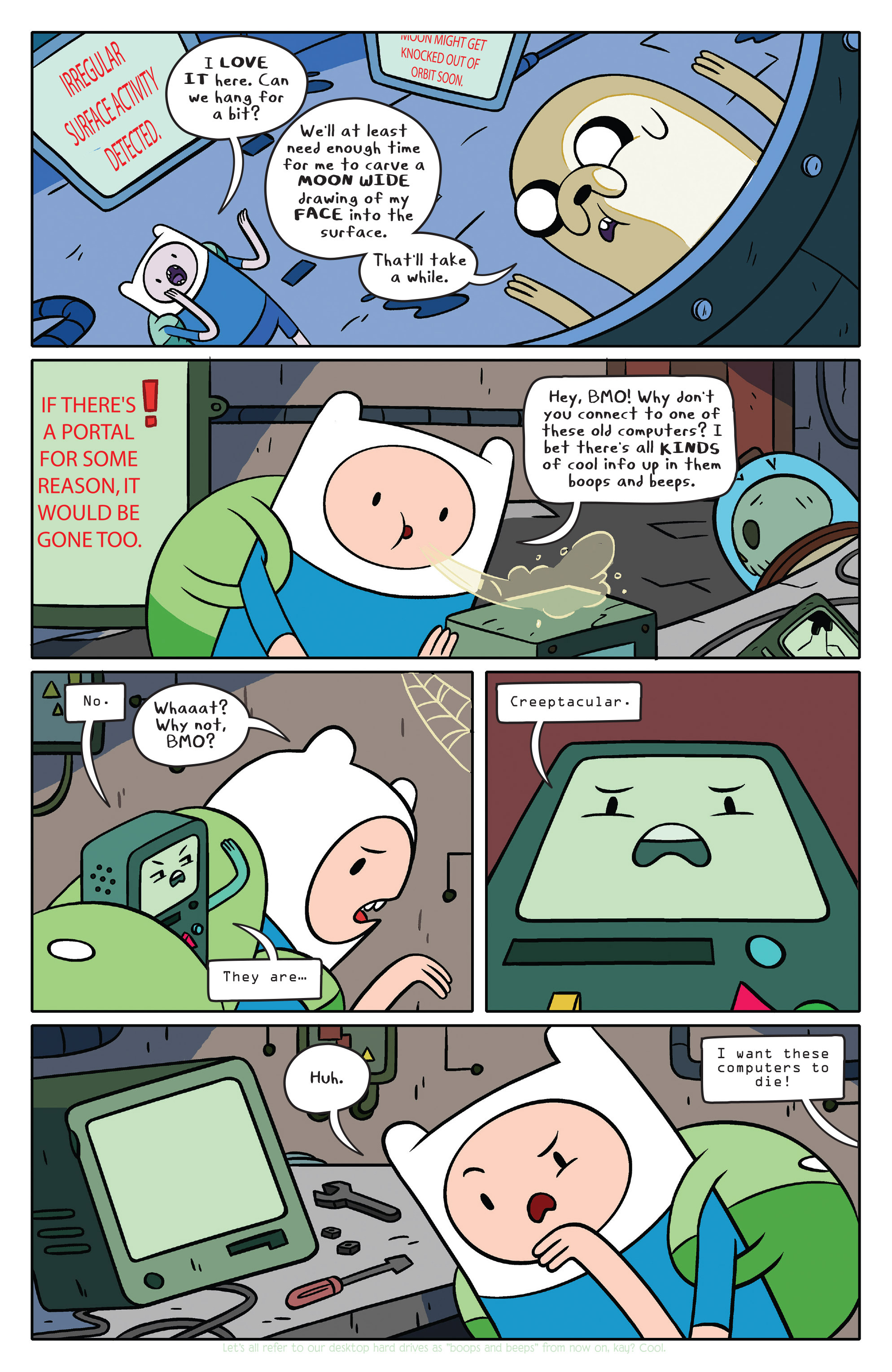Read online Adventure Time comic -  Issue #36 - 7
