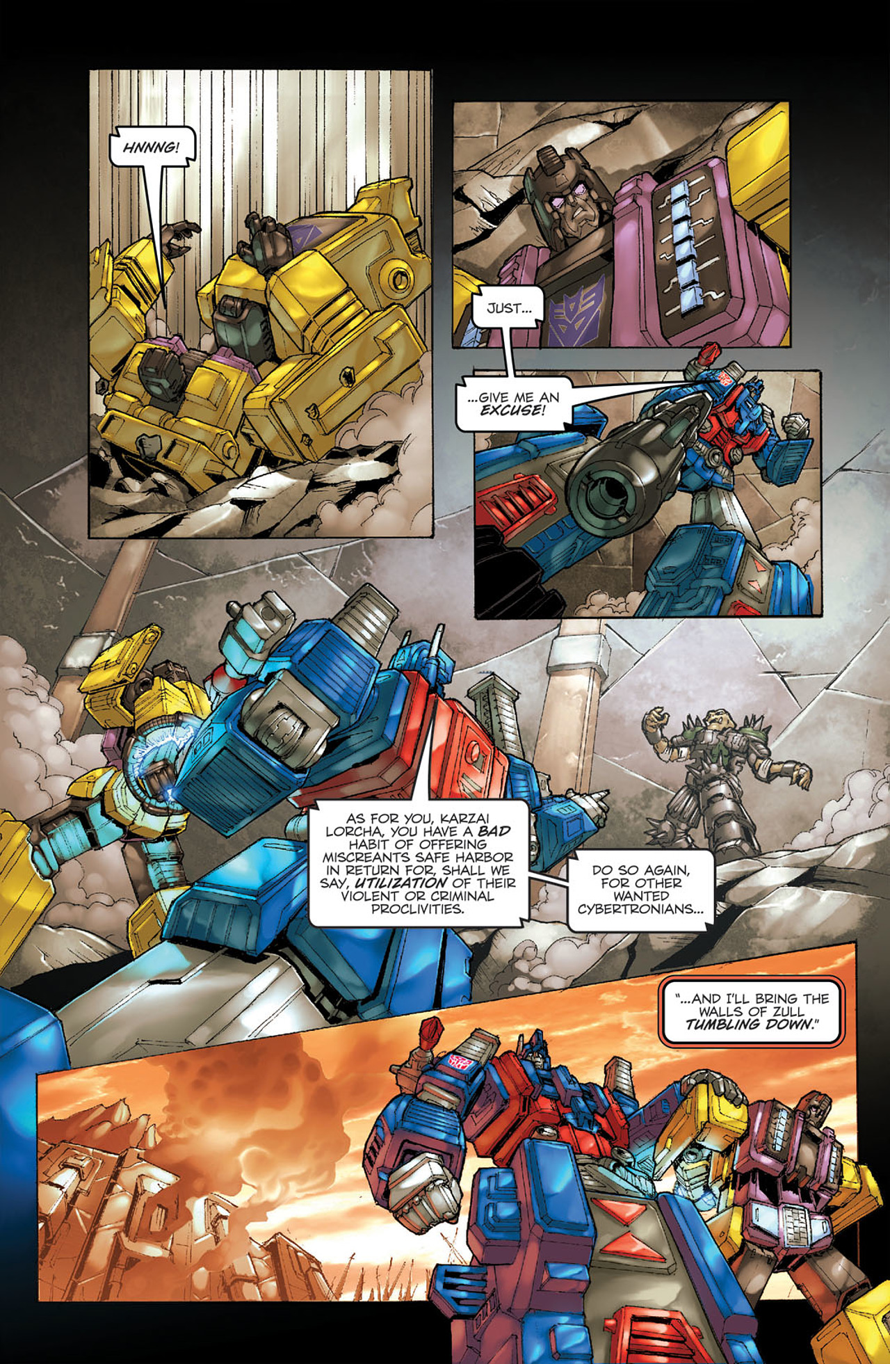 Read online Transformers Spotlight: Ultra Magnus comic -  Issue # Full - 8