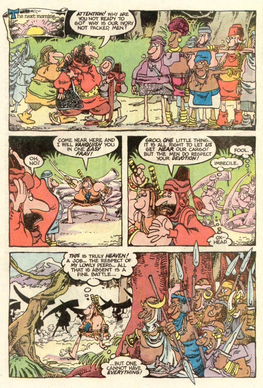 Read online Sergio Aragonés Groo the Wanderer comic -  Issue #7 - 5