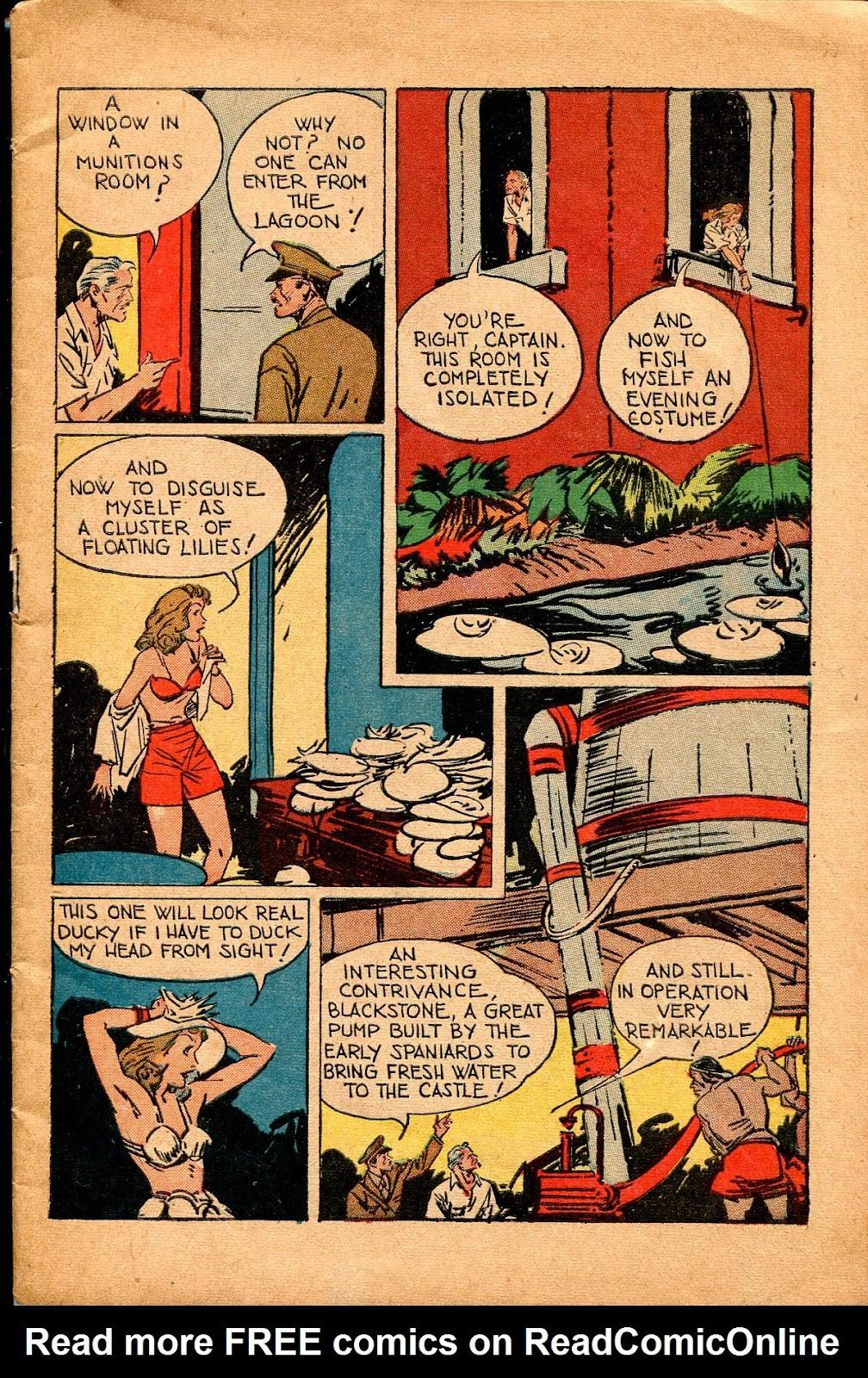 Read online Super-Magician Comics comic -  Issue #34 - 7