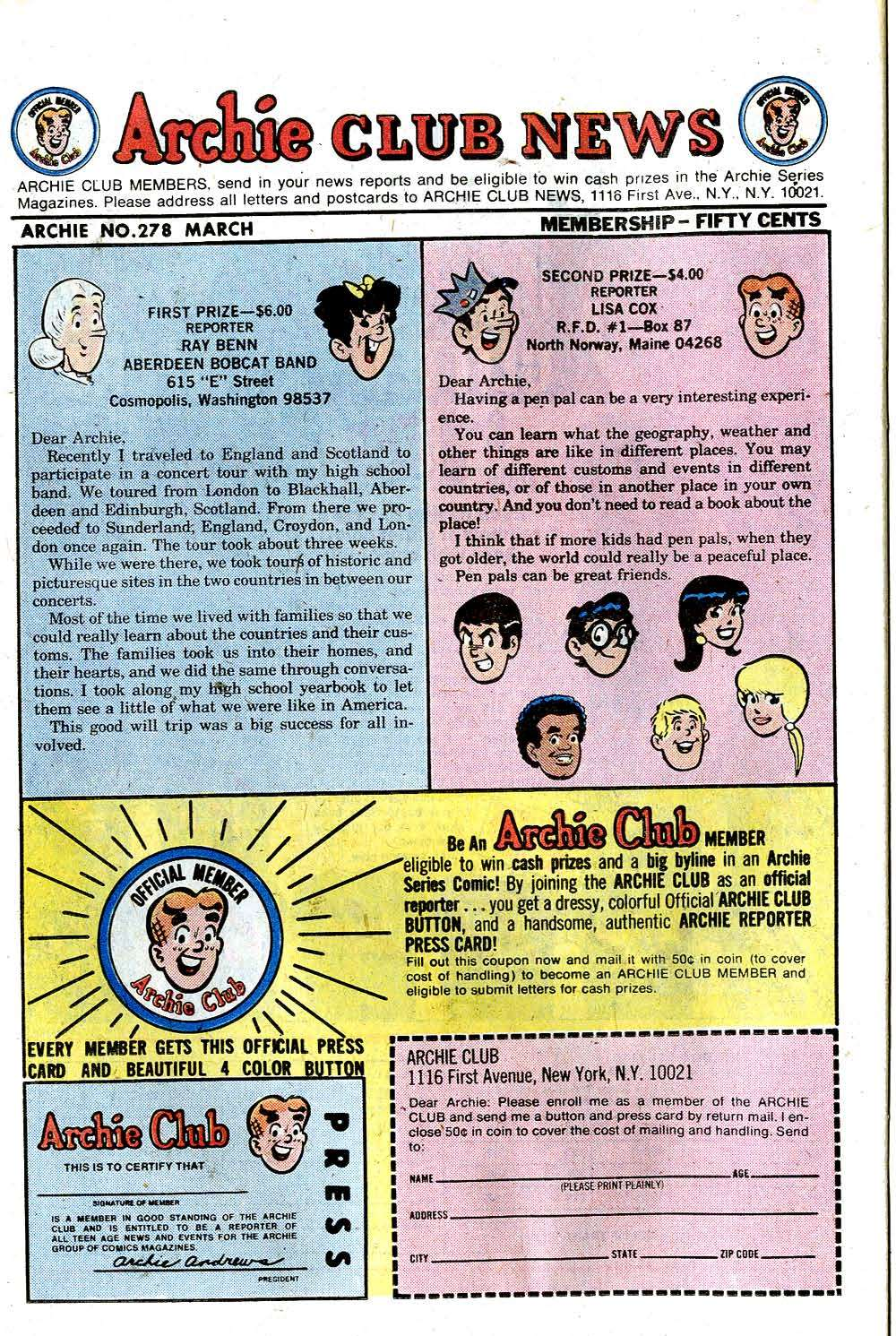 Read online Archie (1960) comic -  Issue #278 - 26