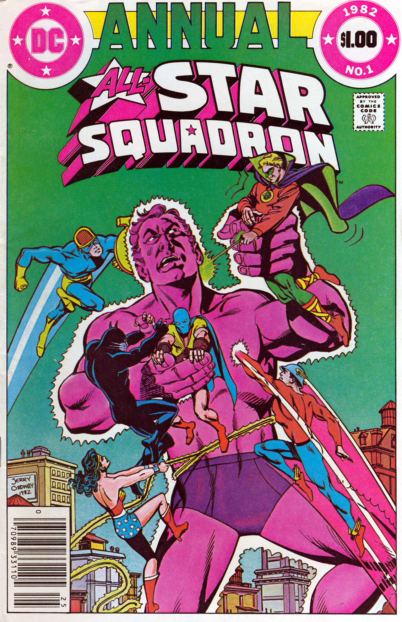 Read online All-Star Squadron comic -  Issue # _Annual 1 - 1