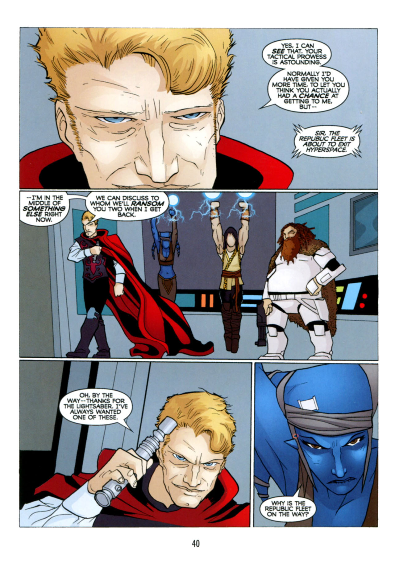 Read online Star Wars: The Clone Wars - Deadly Hands of Shon-Ju comic -  Issue # Full - 41
