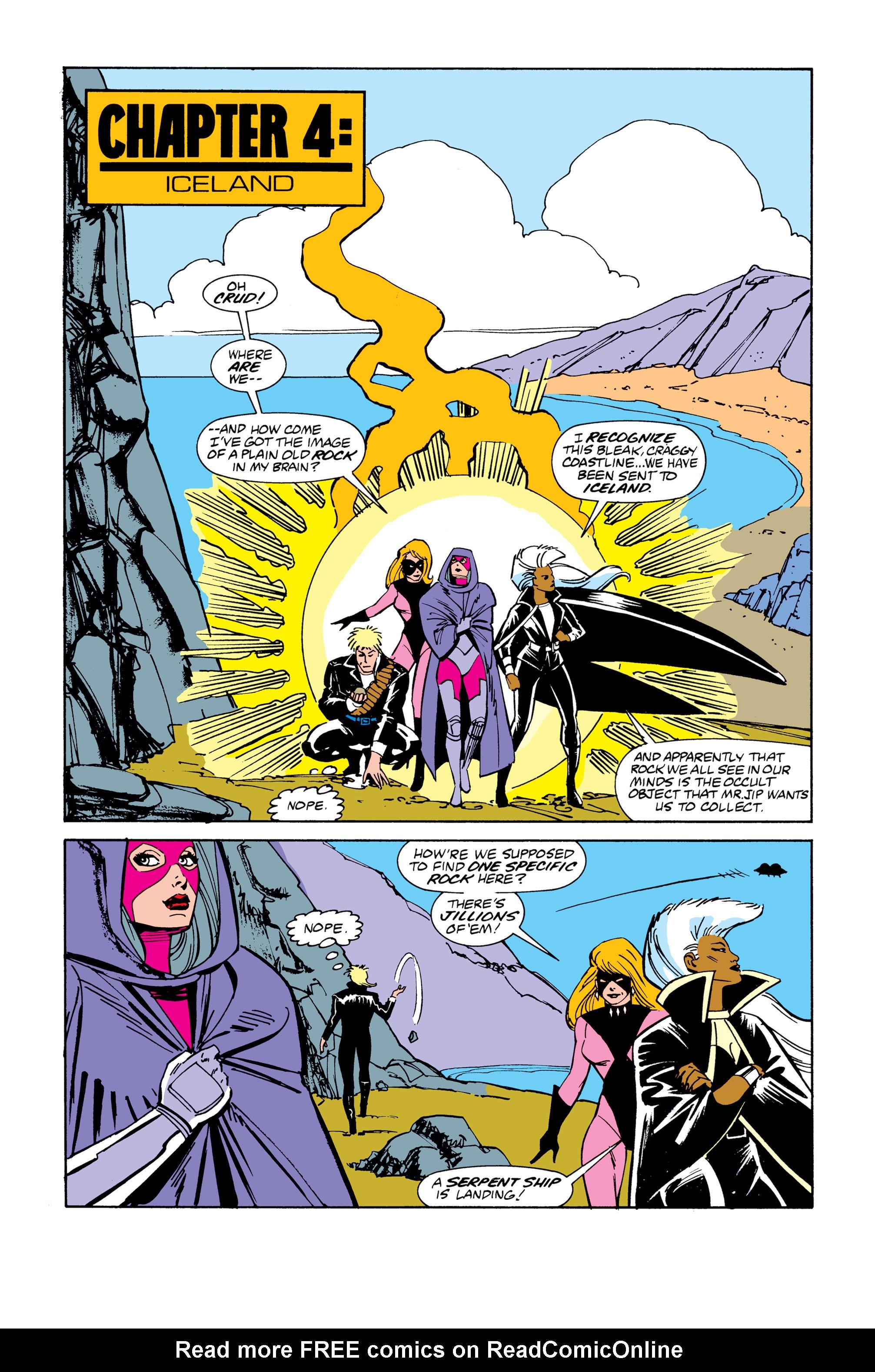 Read online Uncanny X-Men (1963) comic -  Issue # _Annual 13 - 24