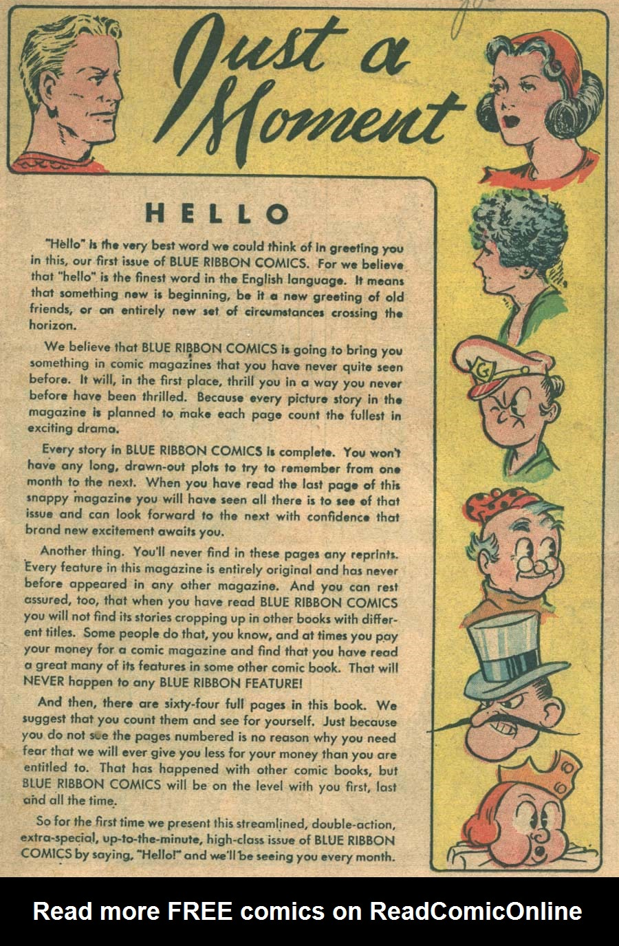 Blue Ribbon Comics (1939) issue 1 - Page 3