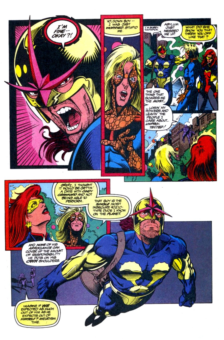 The New Warriors Issue #40 #44 - English 10