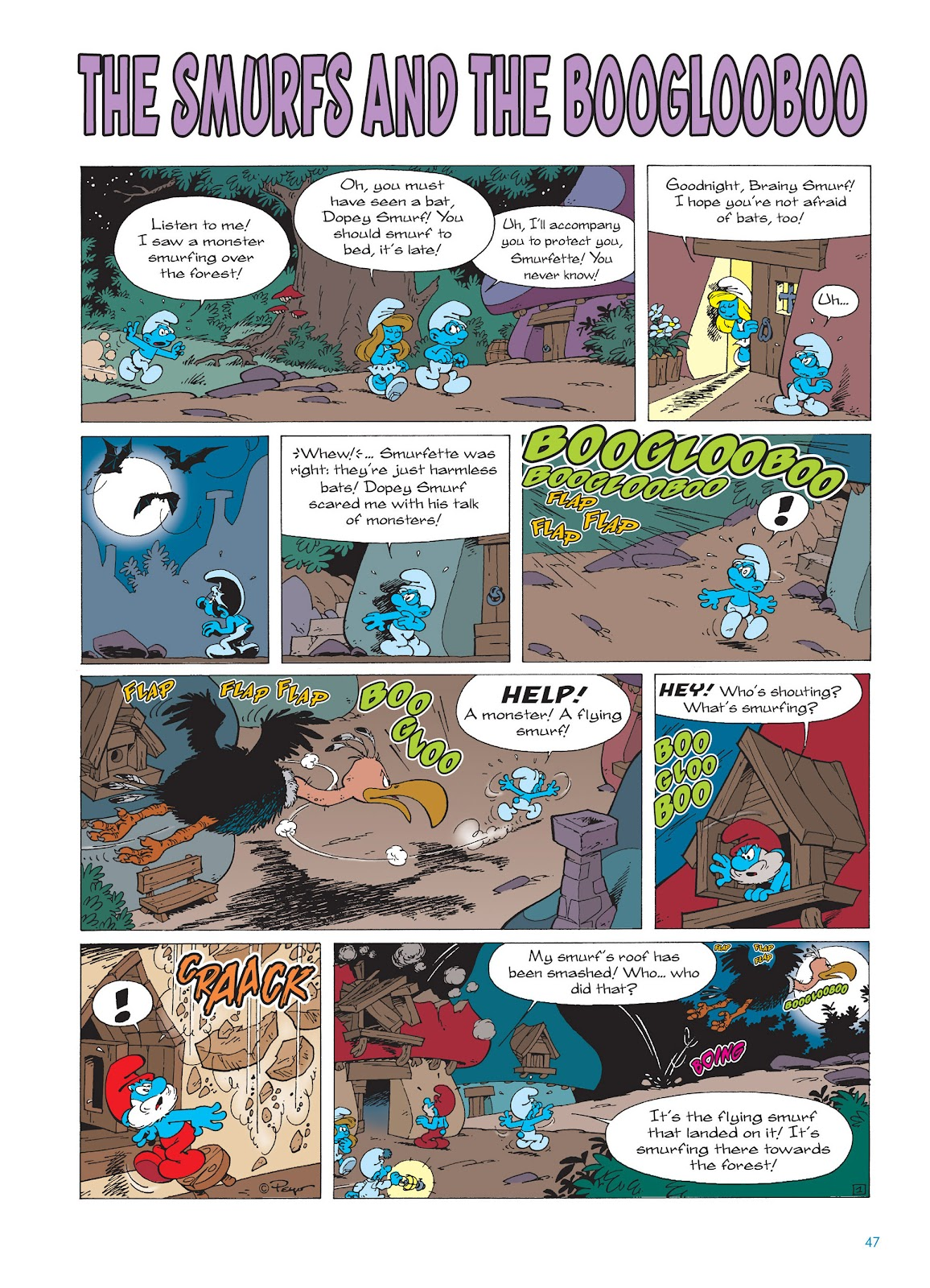 Read online The Smurfs comic -  Issue #15 - 48