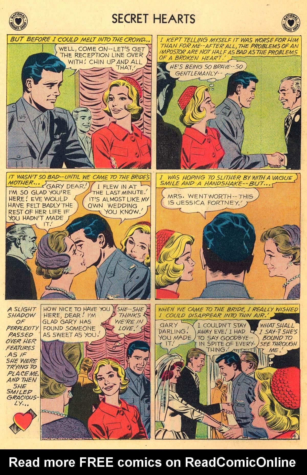 Read online Secret Hearts comic -  Issue #66 - 22
