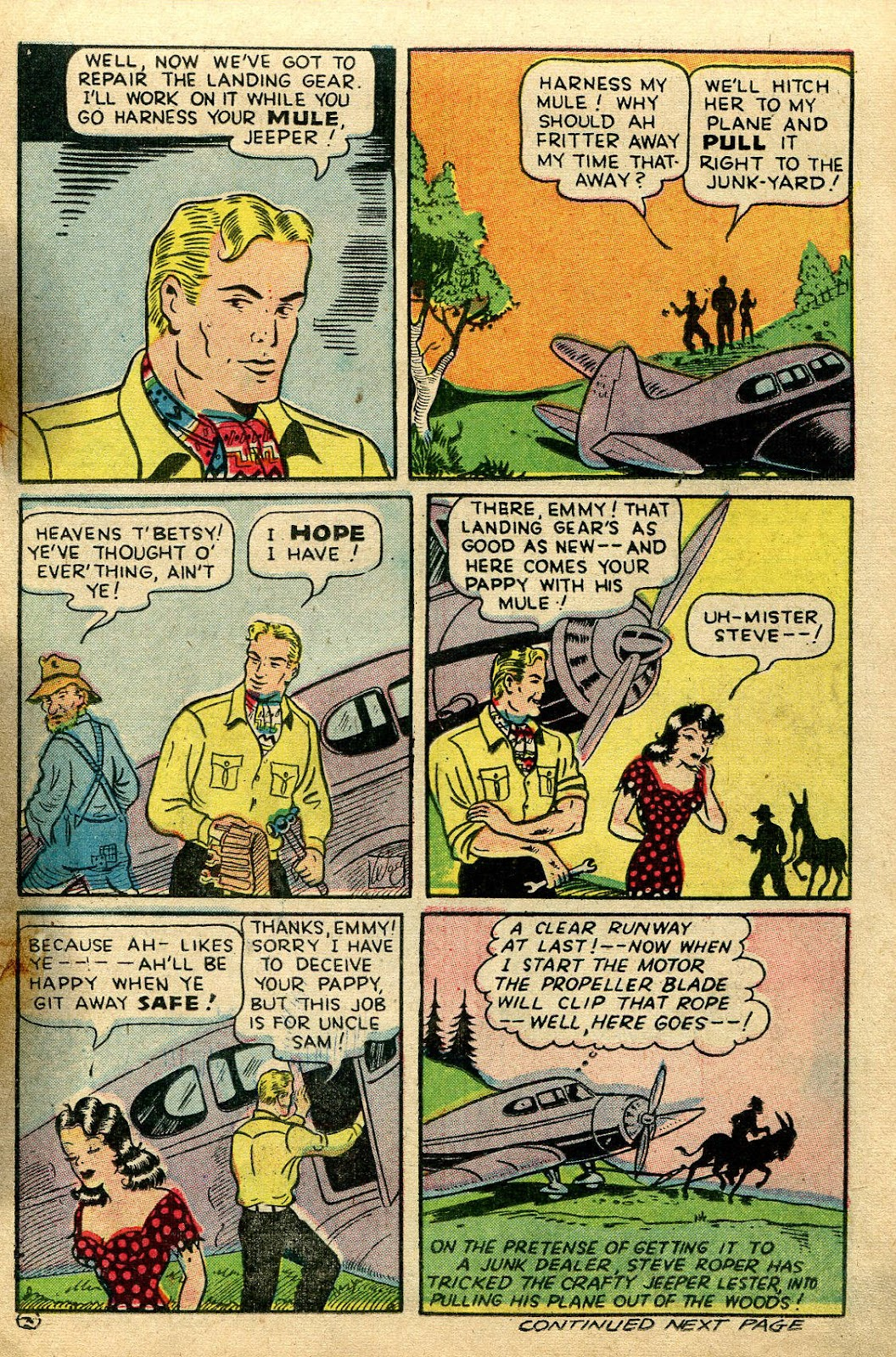 Read online Famous Funnies comic -  Issue #135 - 15
